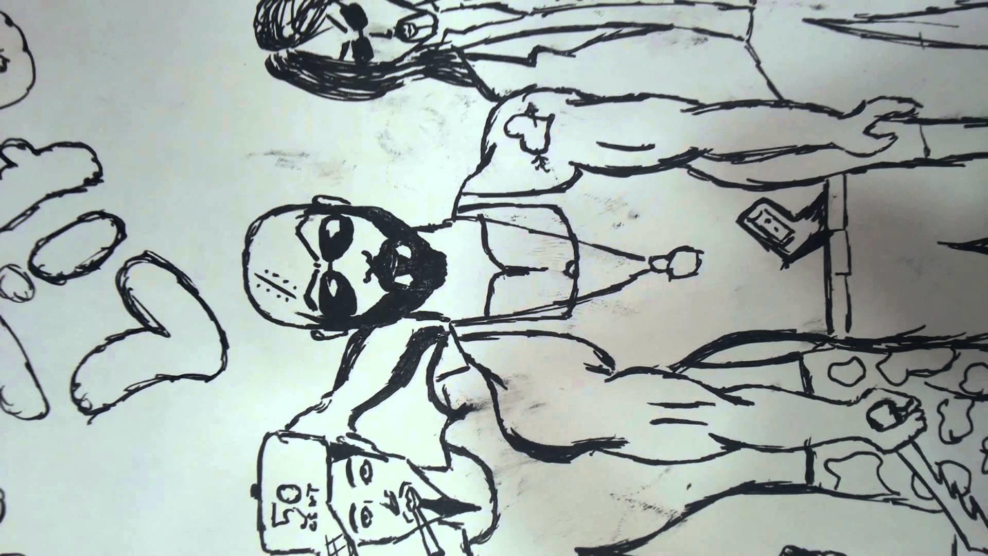 Thug life drawing