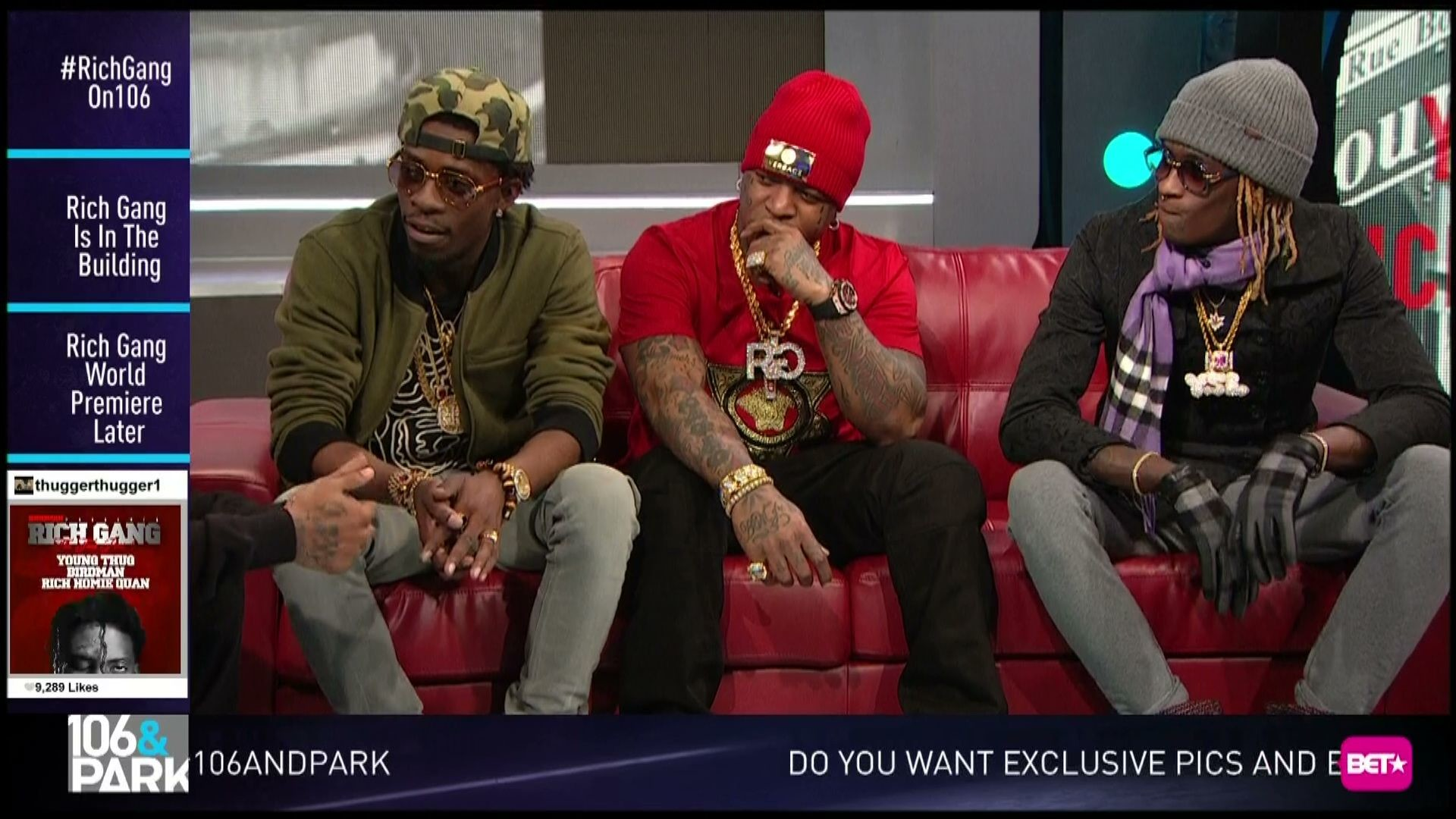 Rich Gang on Biggest Boss Moves, Upcoming Tour | 106 & Park | Season 2014