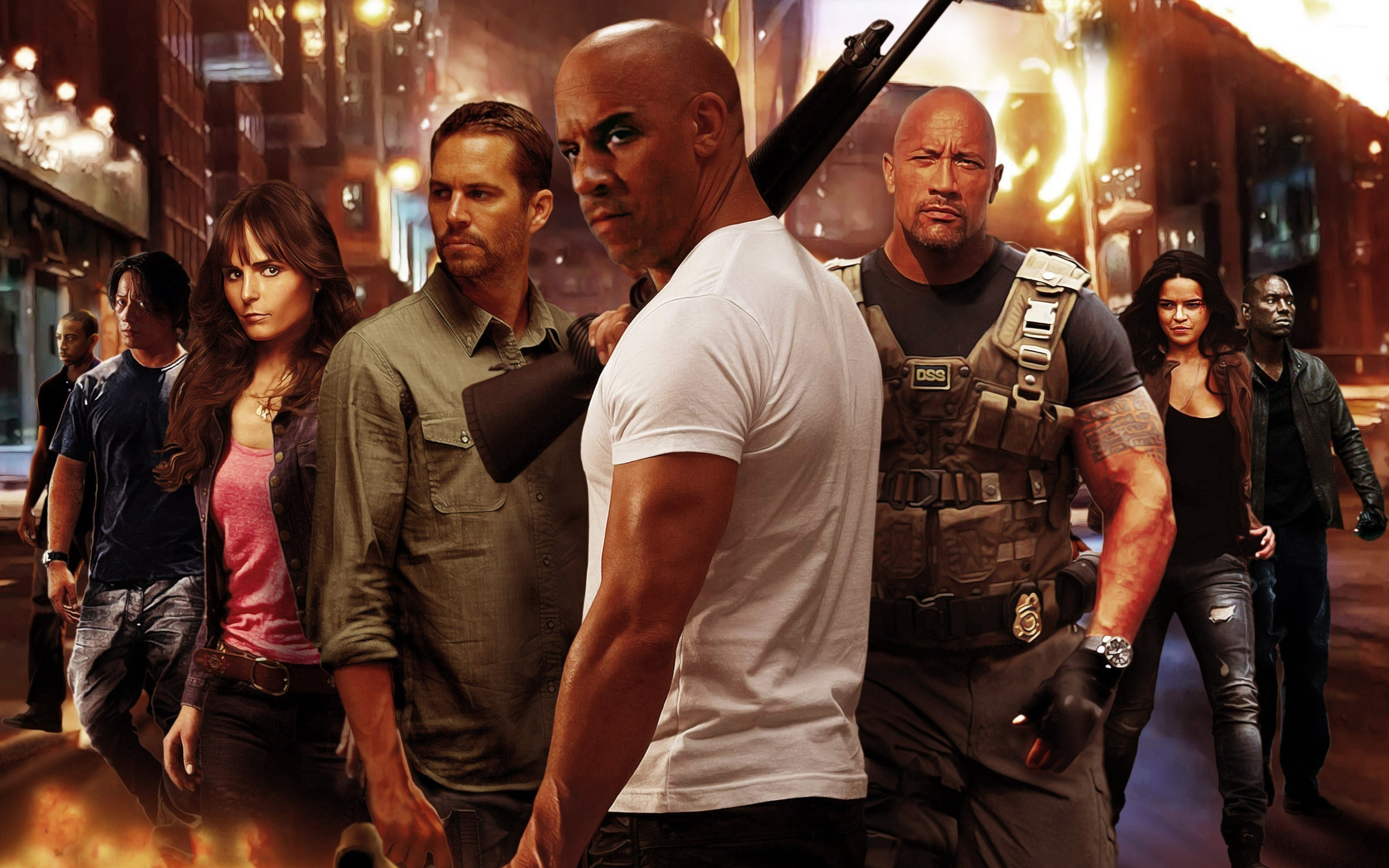 Fast and furious wallpaper Group