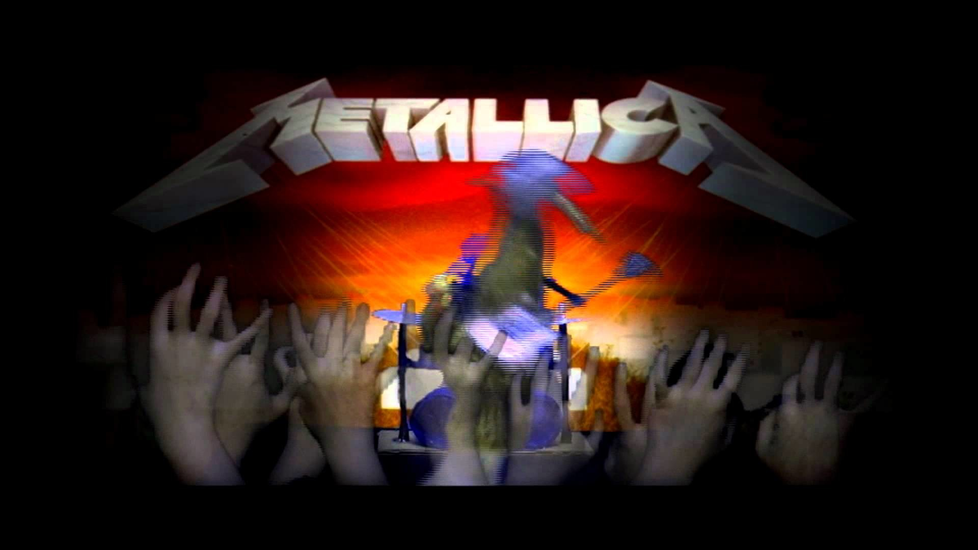 """Master of Puppets"" Metallica: Music video with PUPPETS!"