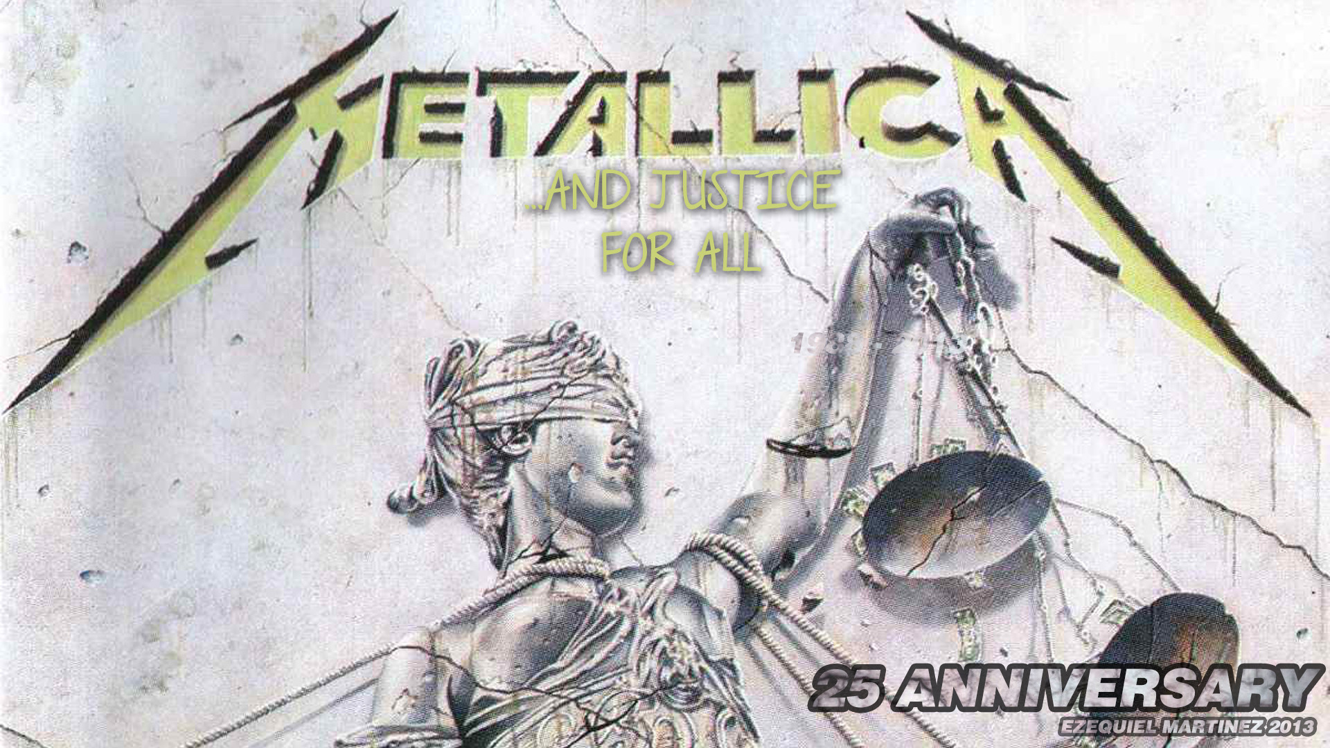 Metallica Wallpaper And Justice For All And justice fo metallica