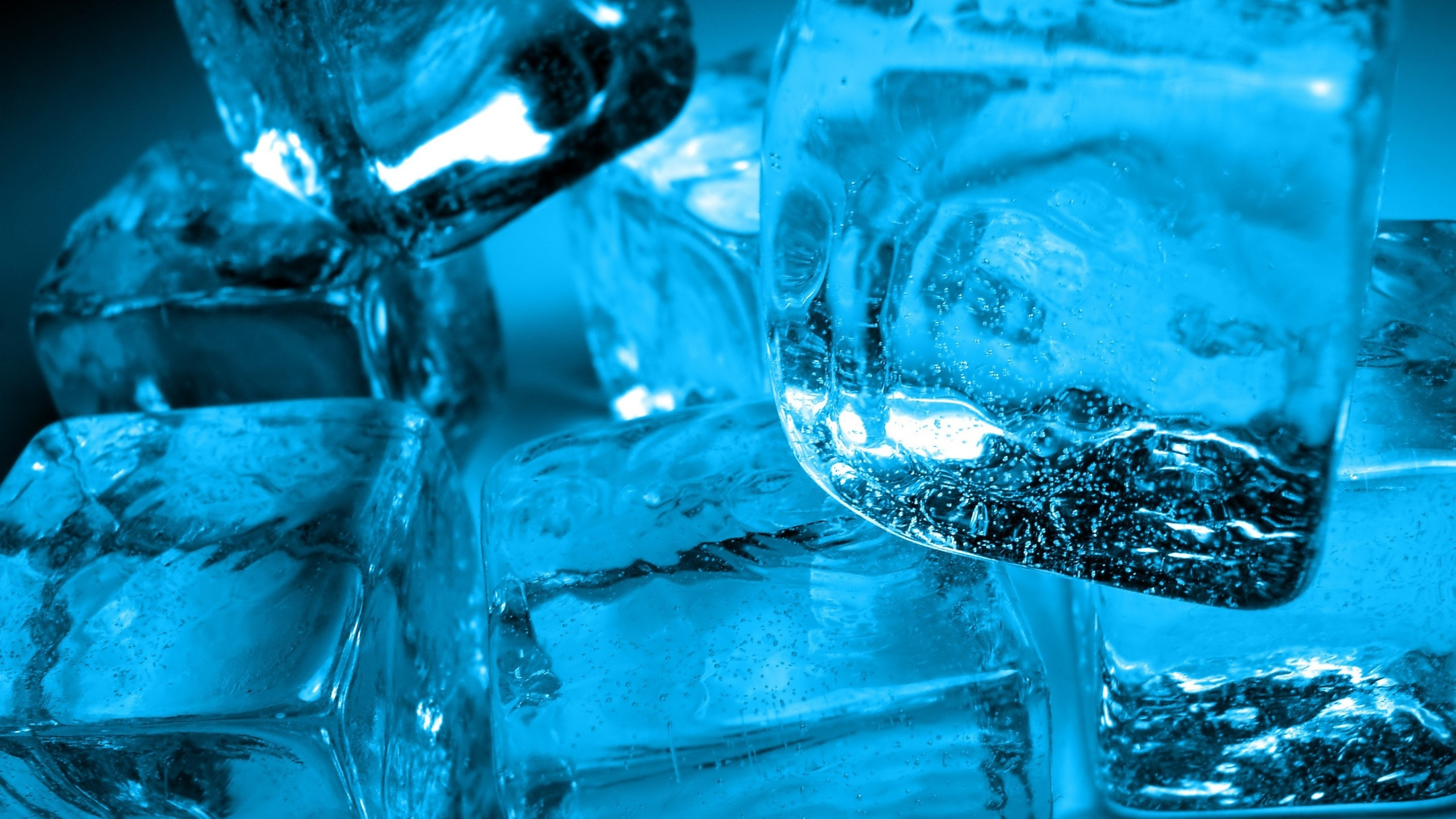 Wallpaper ice, cube, water, cold