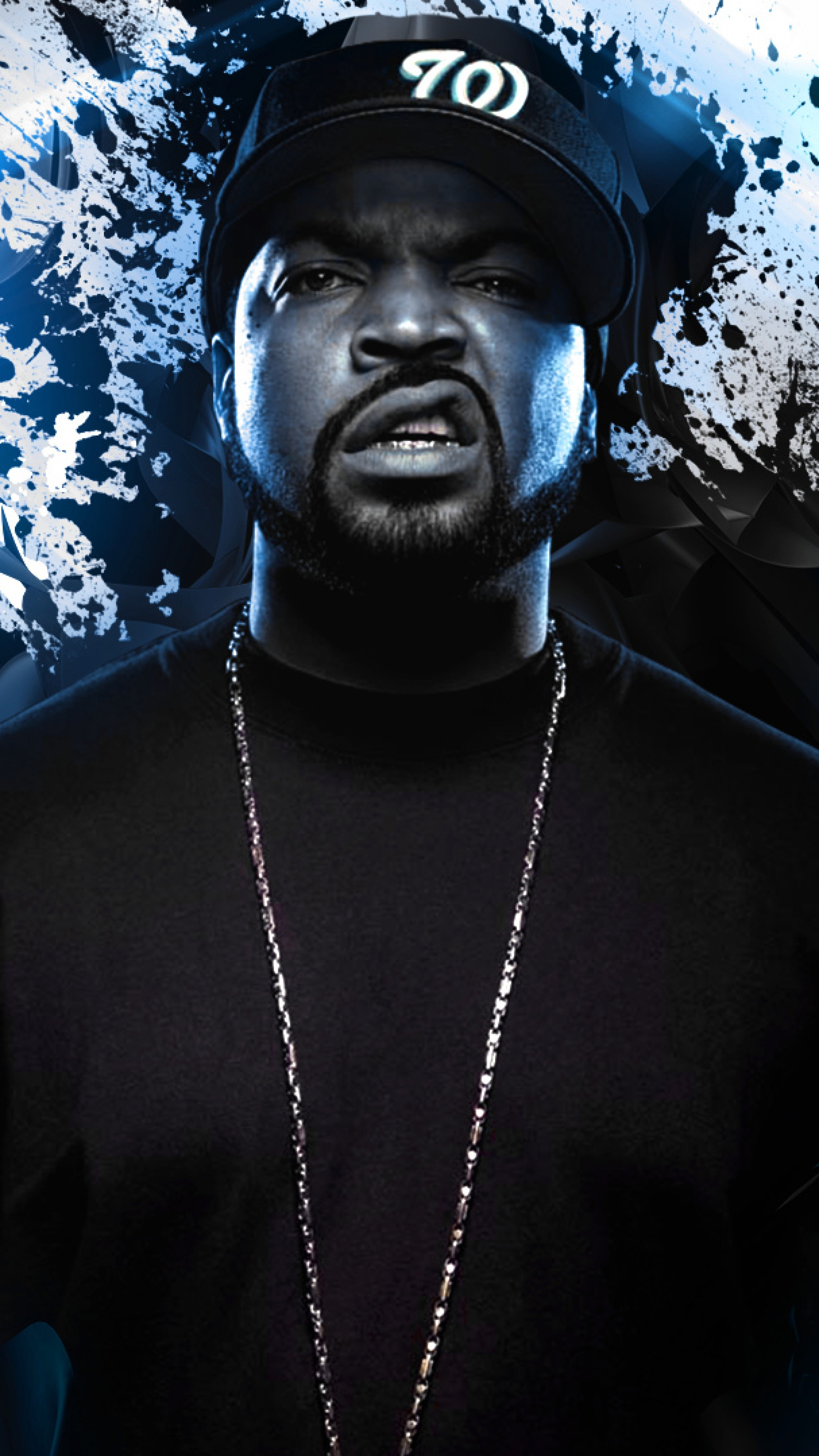 Wallpaper ice cube, rapper, musician, abstraction