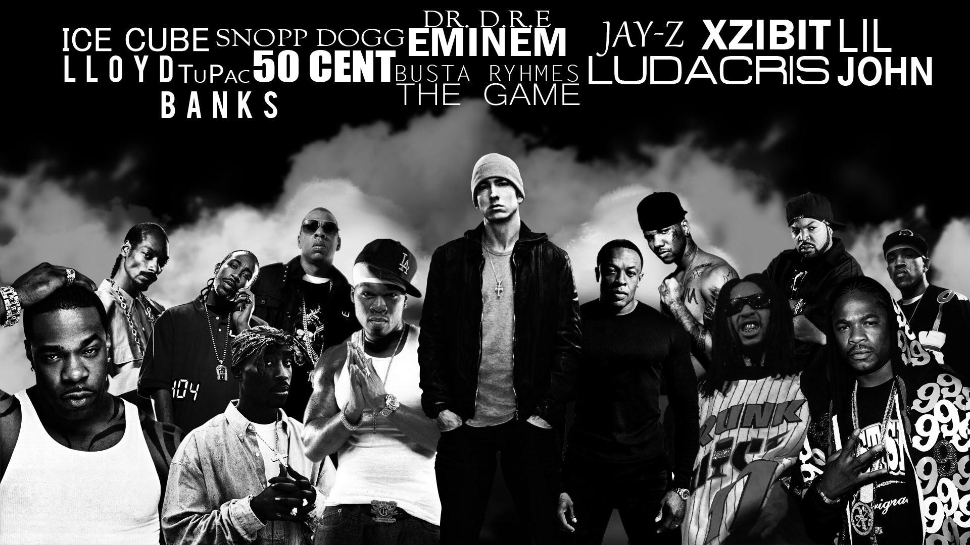 Eminem 2Pac Snoop Dogg Dr Dre …