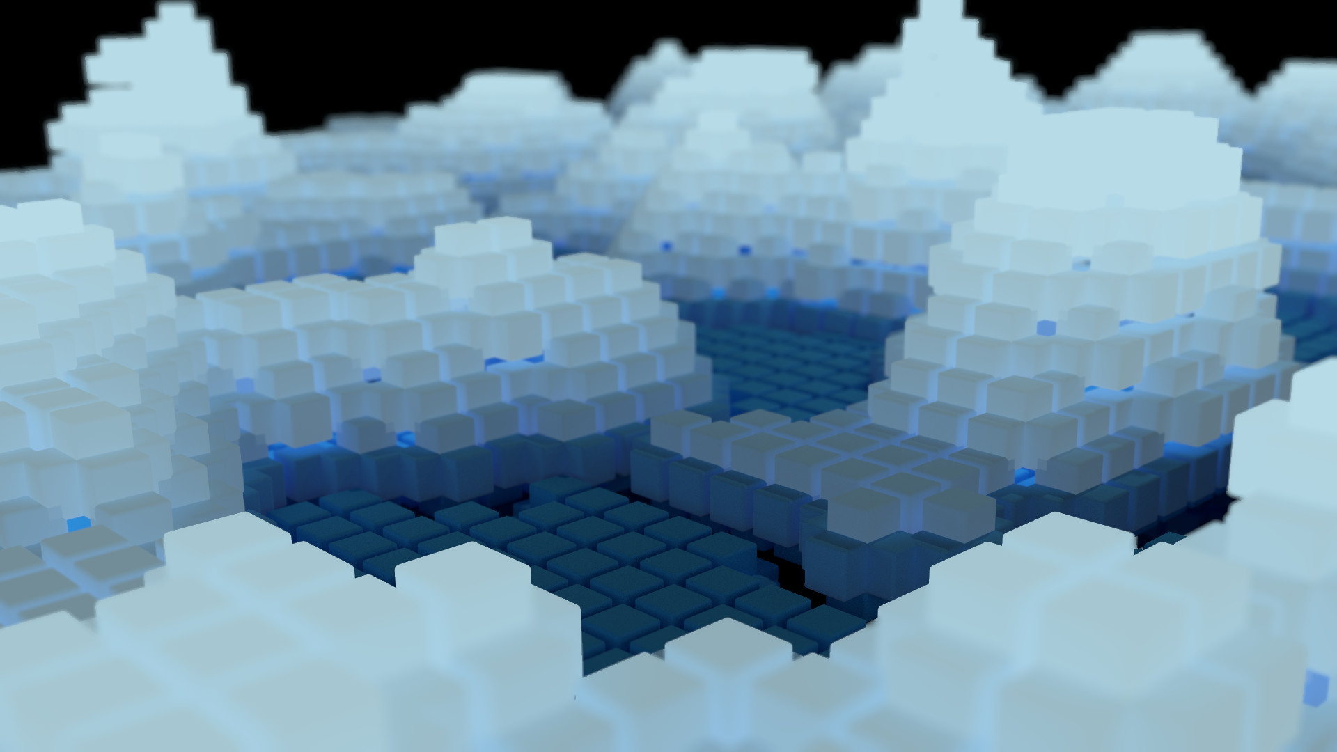 … version of the rendered image here. cubes wallpaper