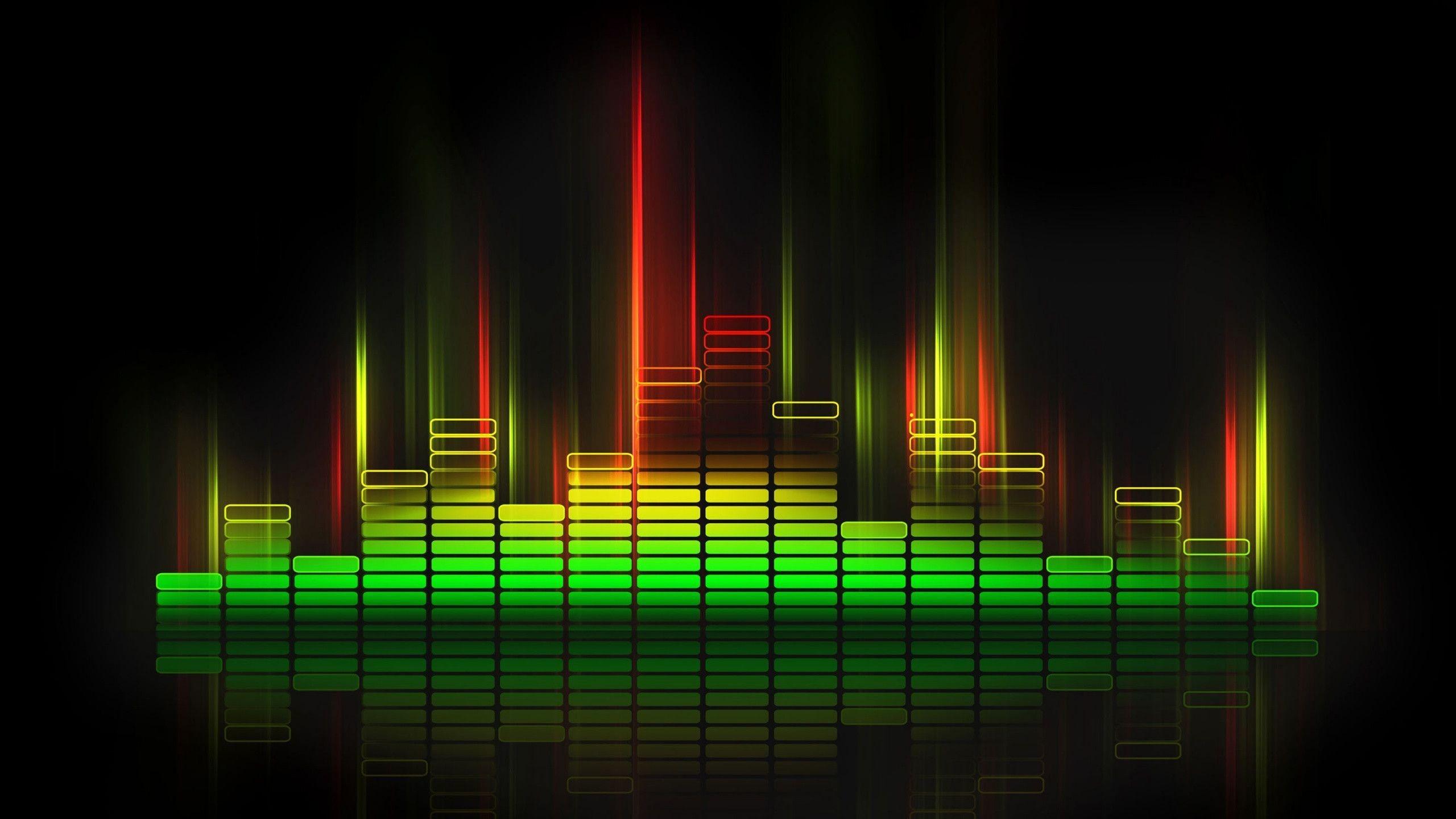 Equalize Sound Wave HD Wallpaper  Nine Wallpaper