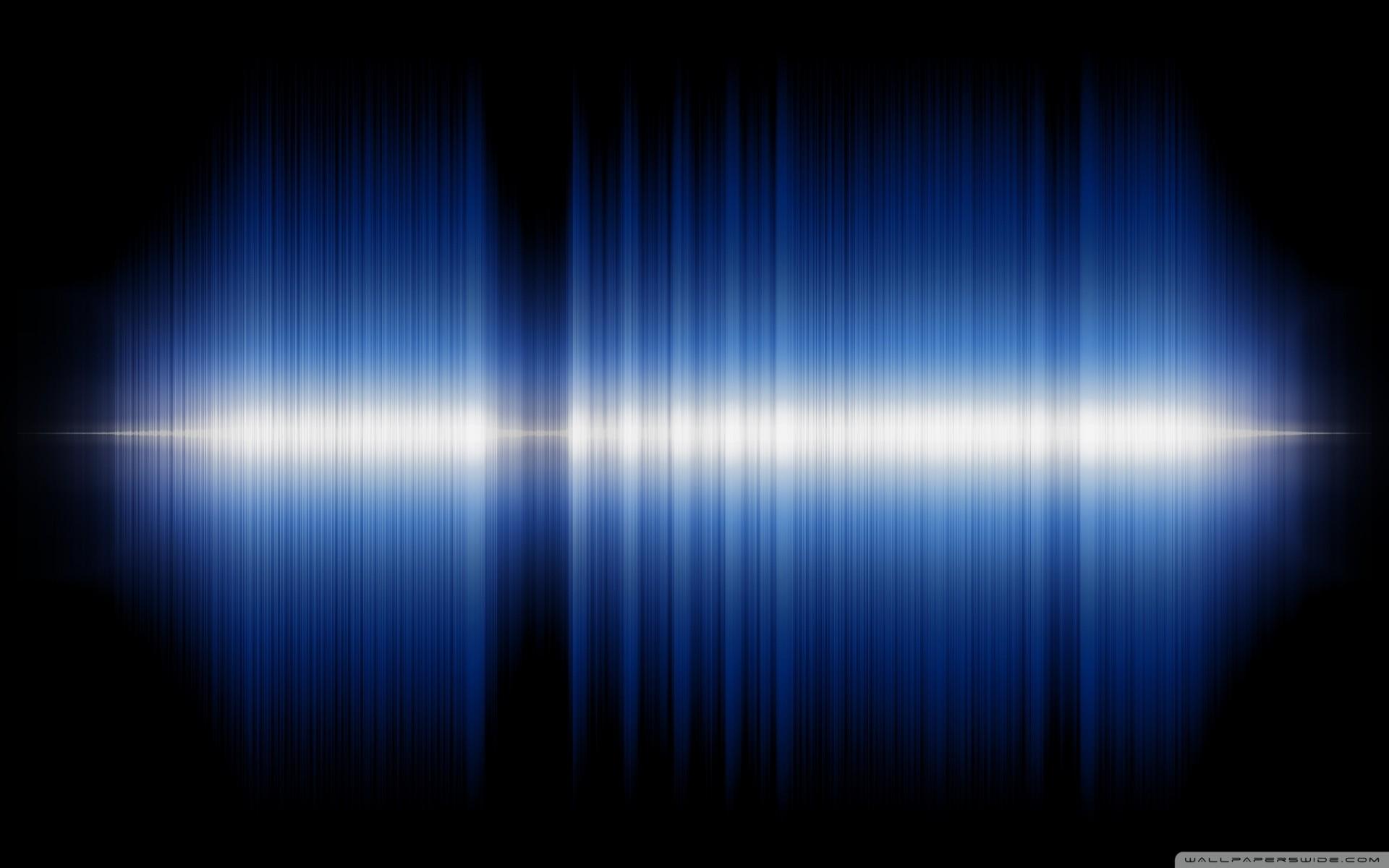 Audio Sound Wave Wallpaper