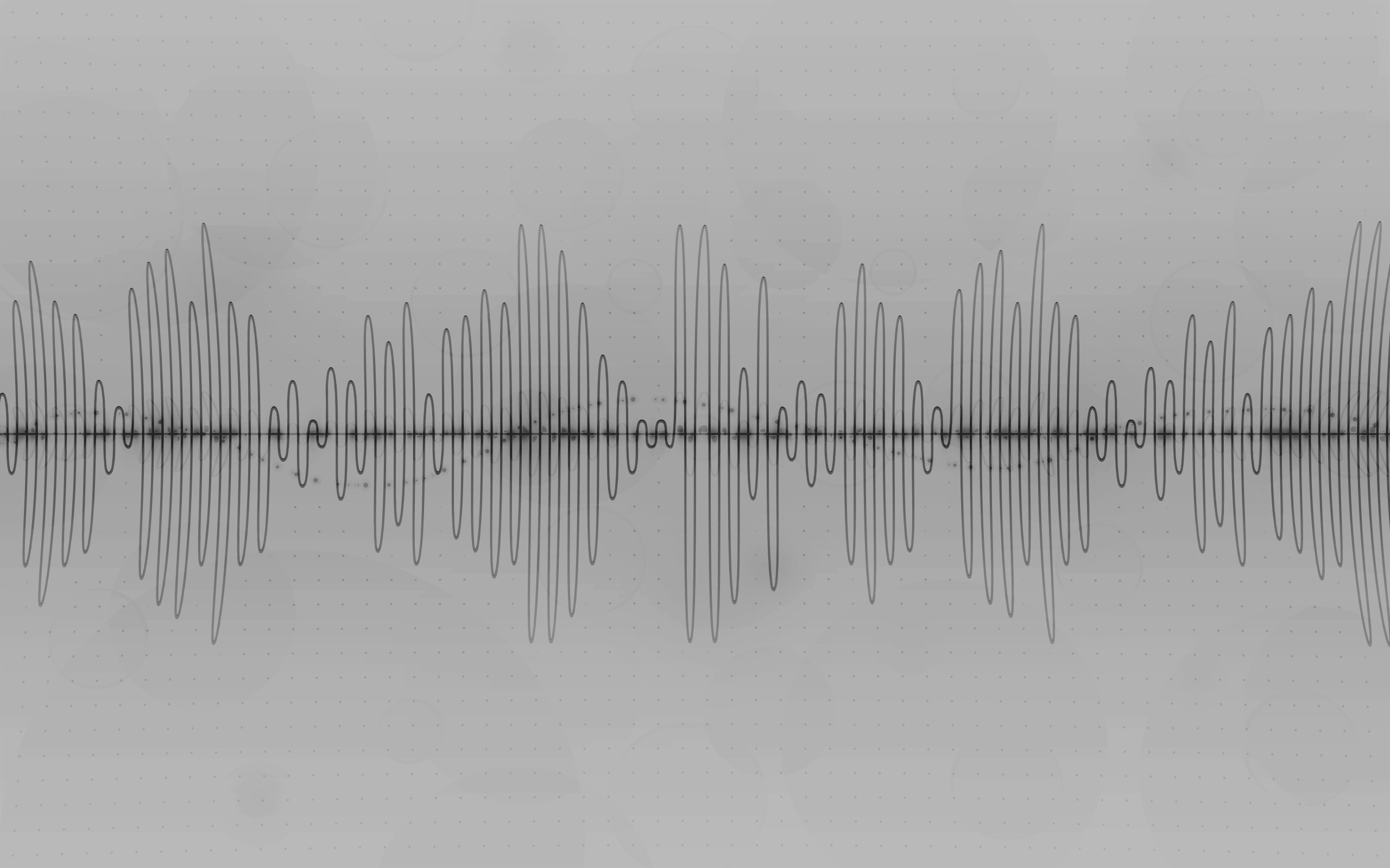 Wallpapers For > Sound Waves Wallpaper White