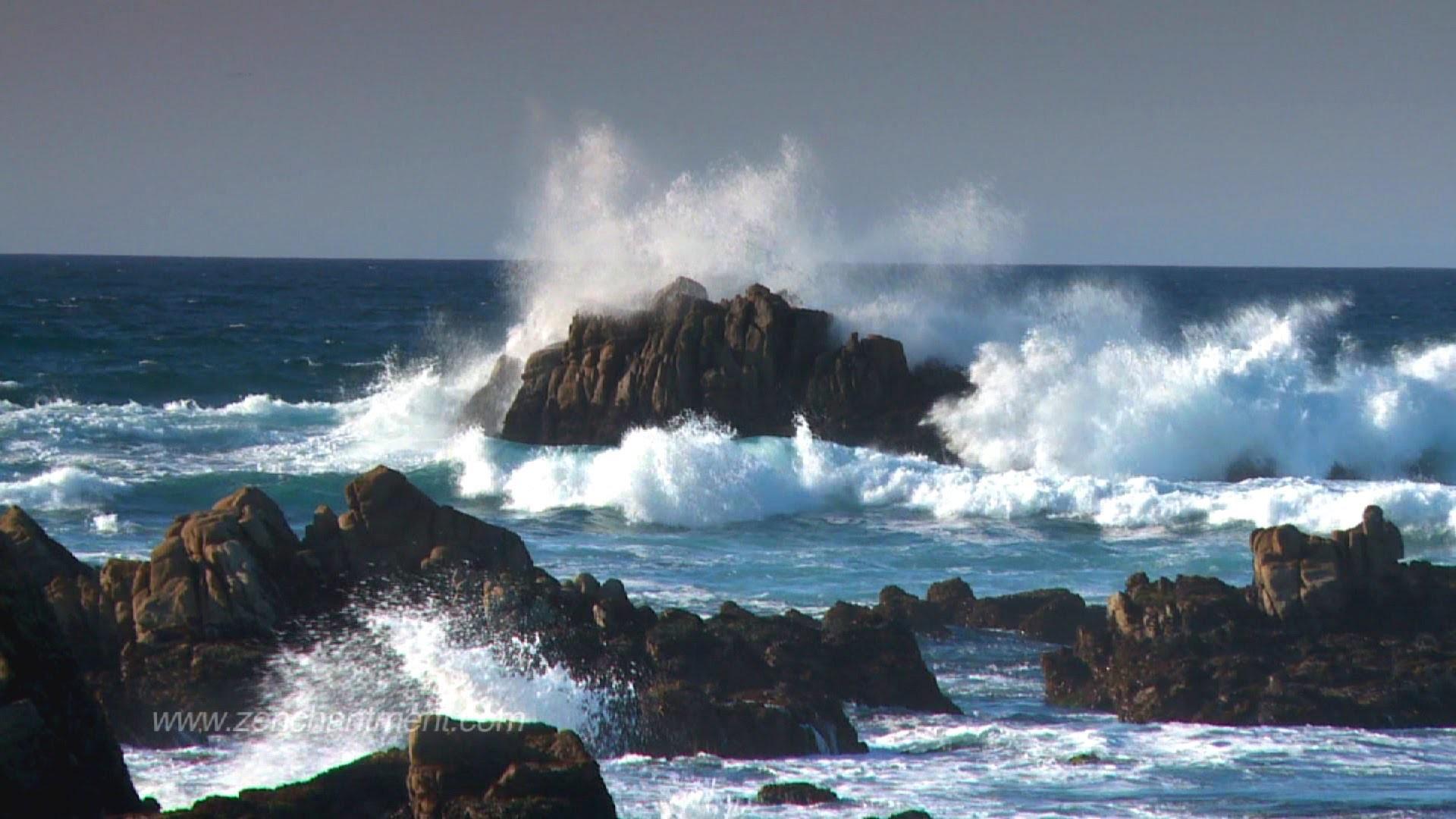 Zen Ocean Waves – Ocean Sounds Only (NO MUSIC) Aquatic Dream Therapy –  YouTube