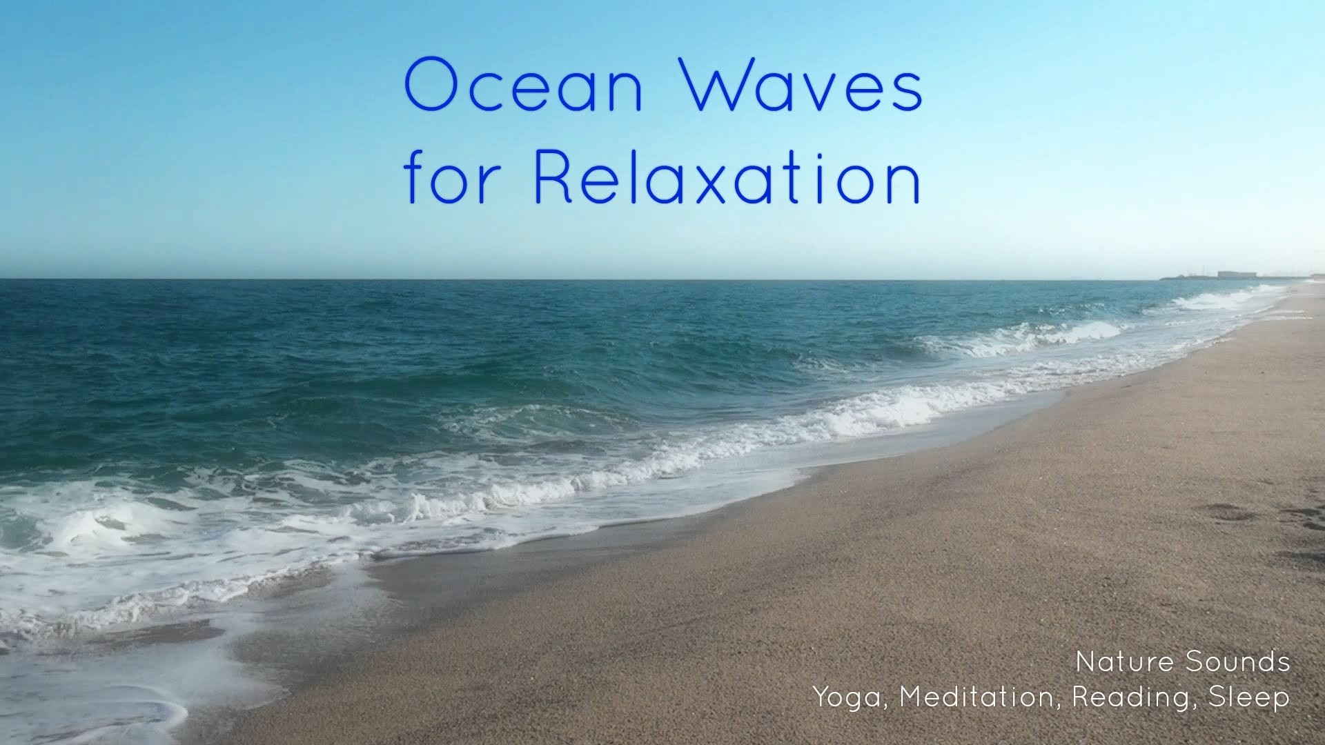 Nature Sounds Ocean Waves for relaxation, yoga, meditation, reading, sleep,  study [ Sleep Music ] – YouTube