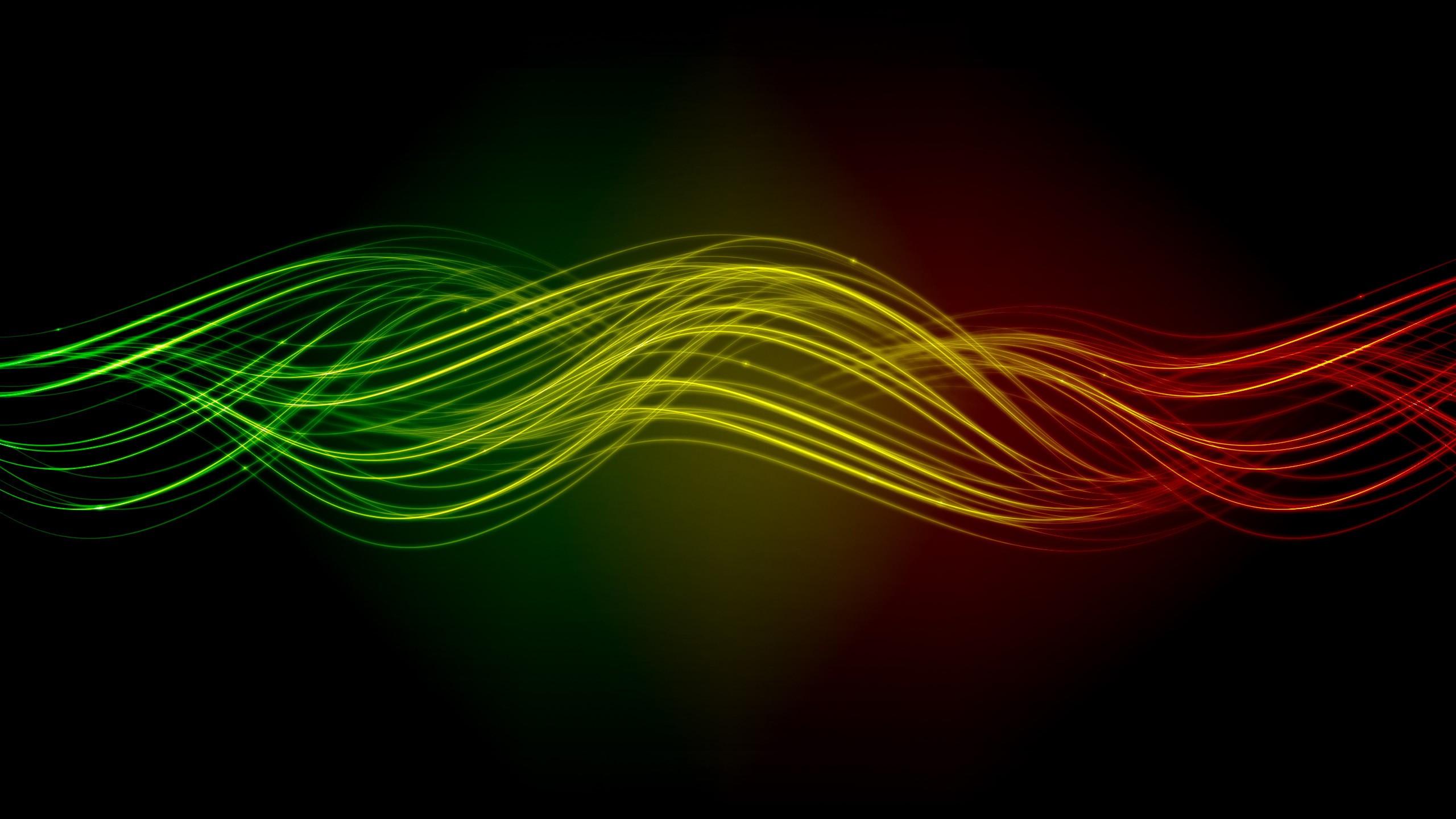 … waves HD Wallpaper Glowing …