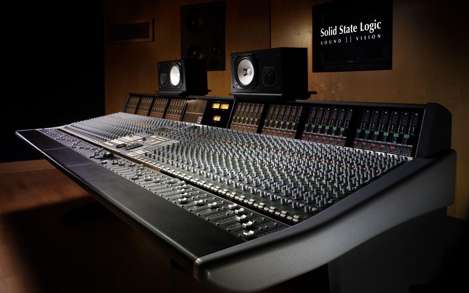 Music Studio Wallpaper Music, Studio, Machines