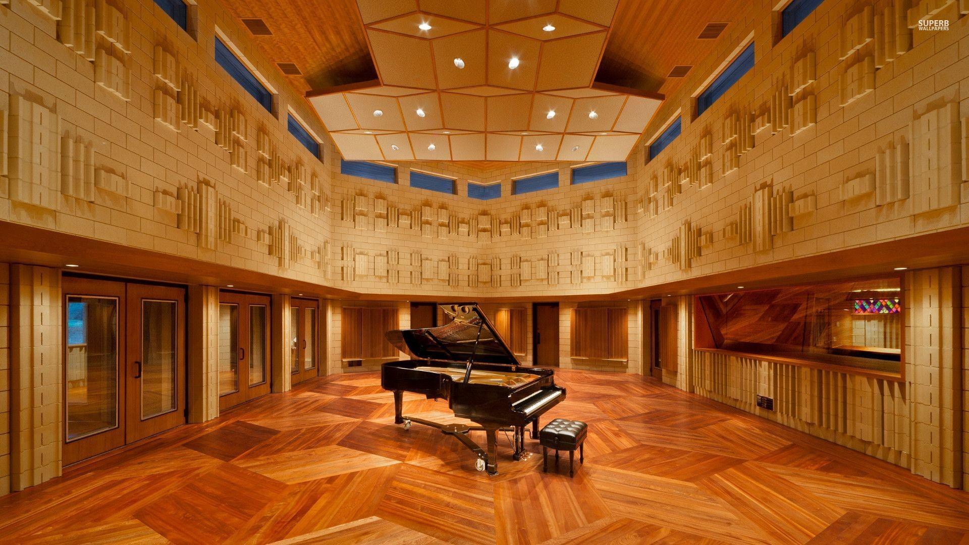 Piano in the Manifold Recording studio wallpaper – Music .