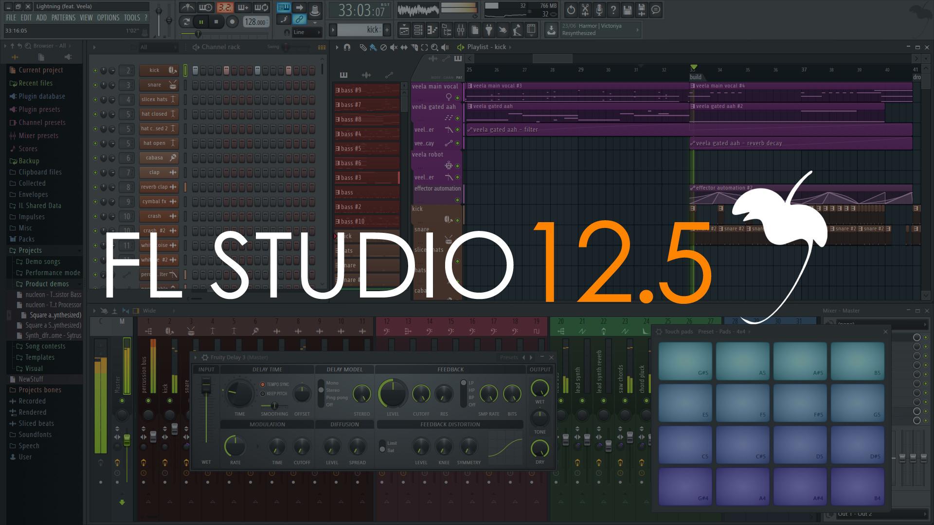 FL Studio 12.5   Released
