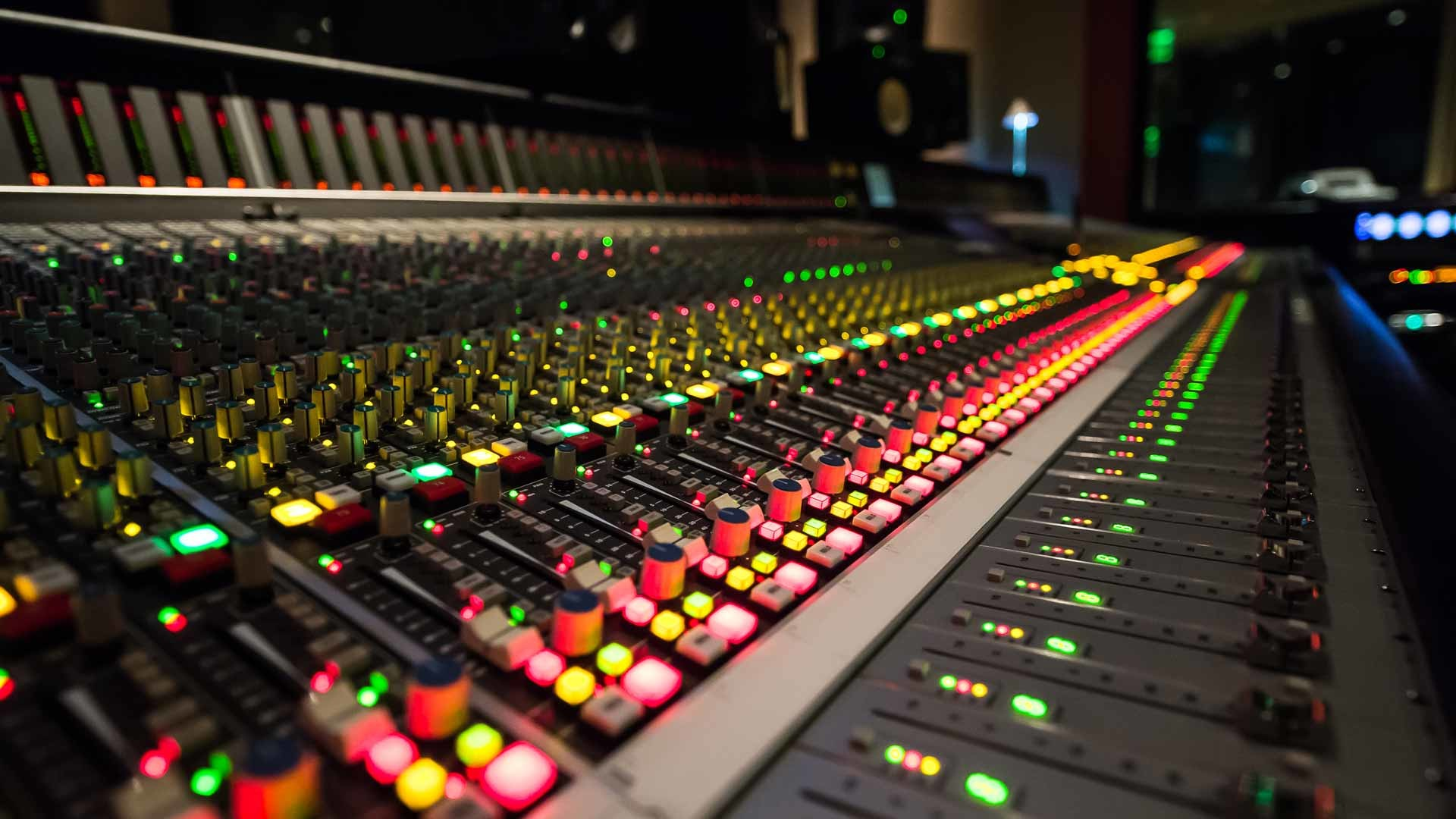 World Class Recording Studio in San Francisco