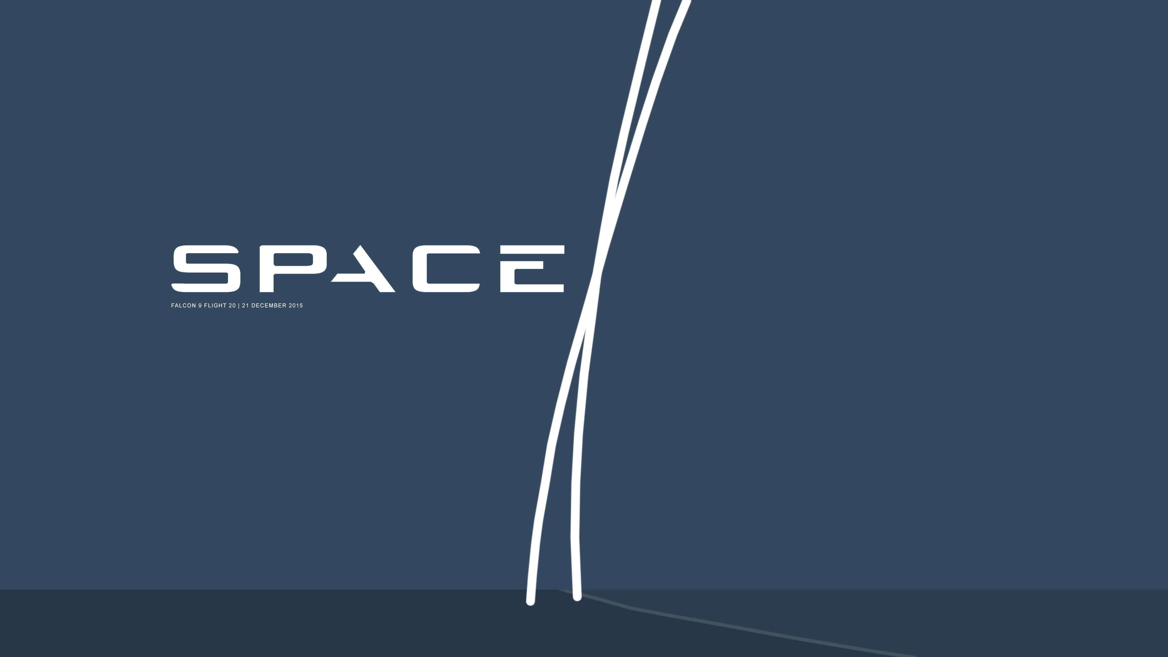 Community ContentFlat Wallpaper (Falcon 9 December landing) …