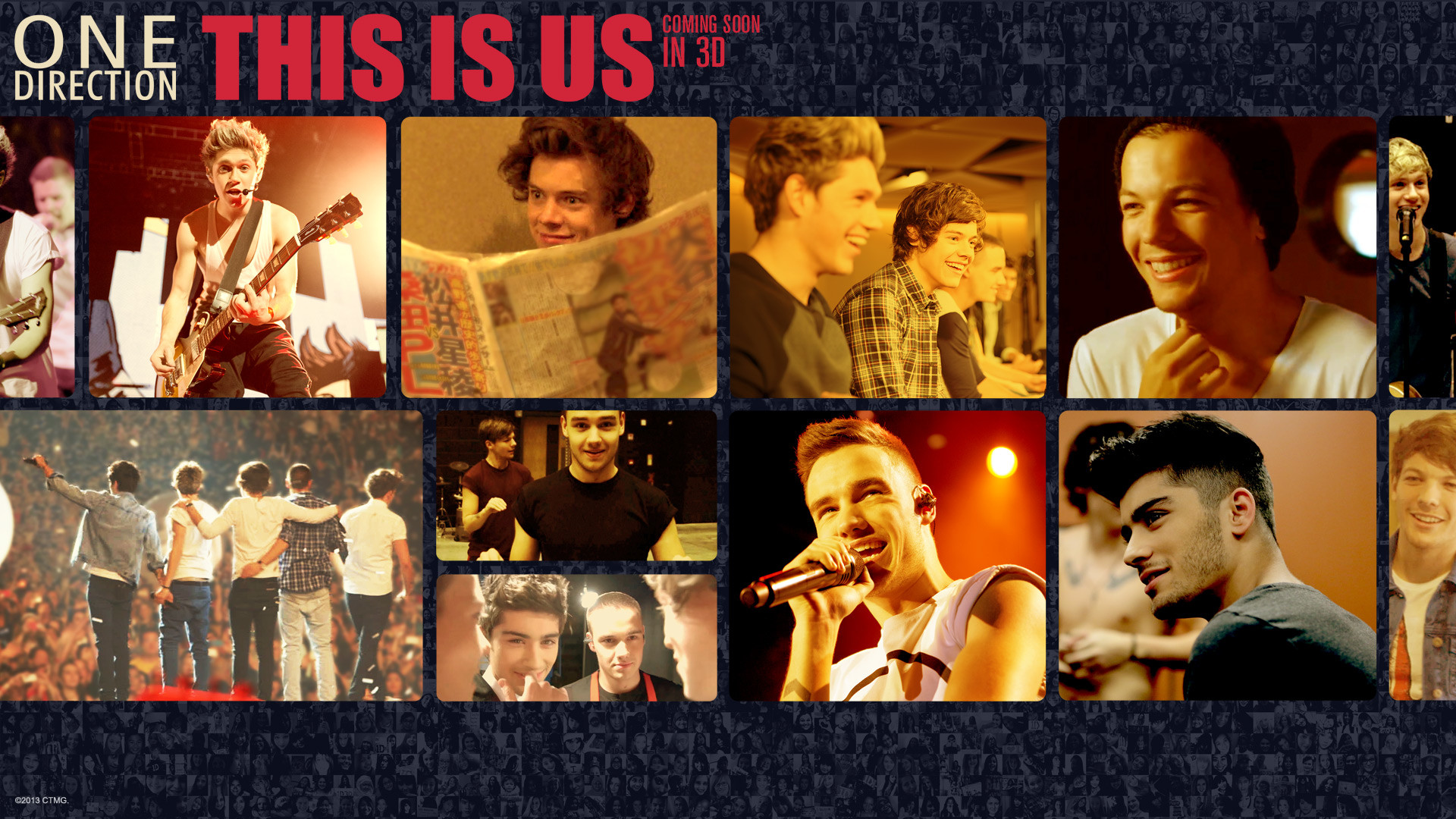One Direction This Is Us Movie Wallpaper #1