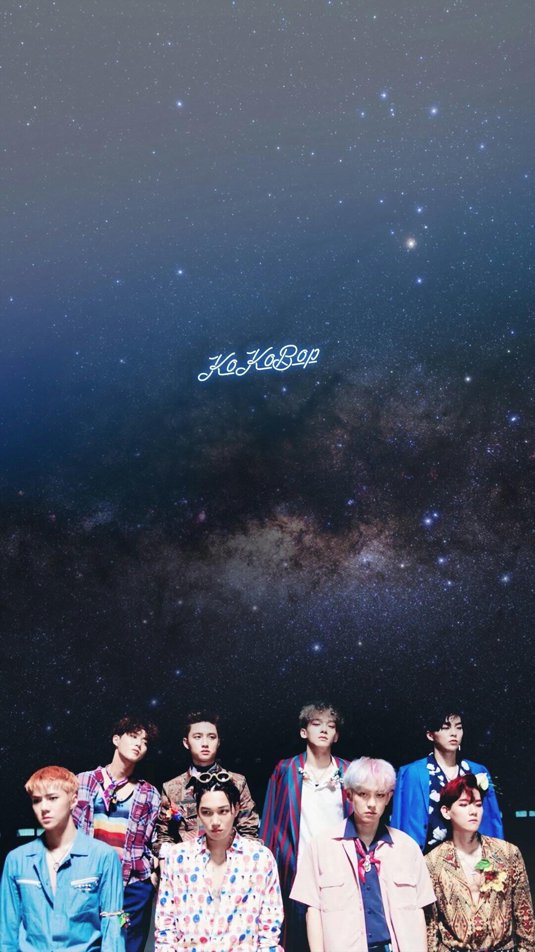 EXO COMEBACK 2017 WALLPAPER | #EXO #COMEBACK #July2017 | #엑소 #KoKoBop
