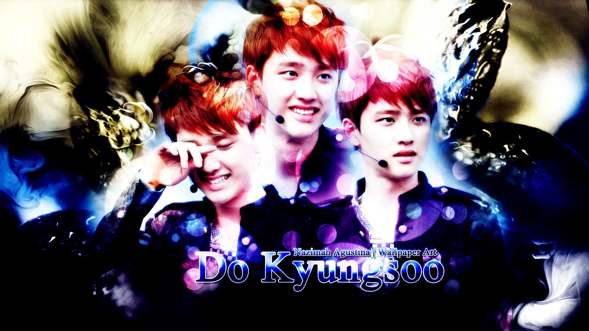 … kyungsoo do exo wallpaper brithday blue soft drama graphic by nazimah  agustina …