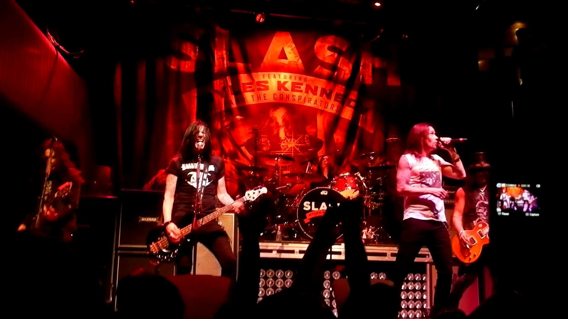 "Slash & Myles Kennedy NEW First Time Live ""Apocalyptic Love"" @ The Brick in  Minneapolis 05/14/2012 – YouTube"