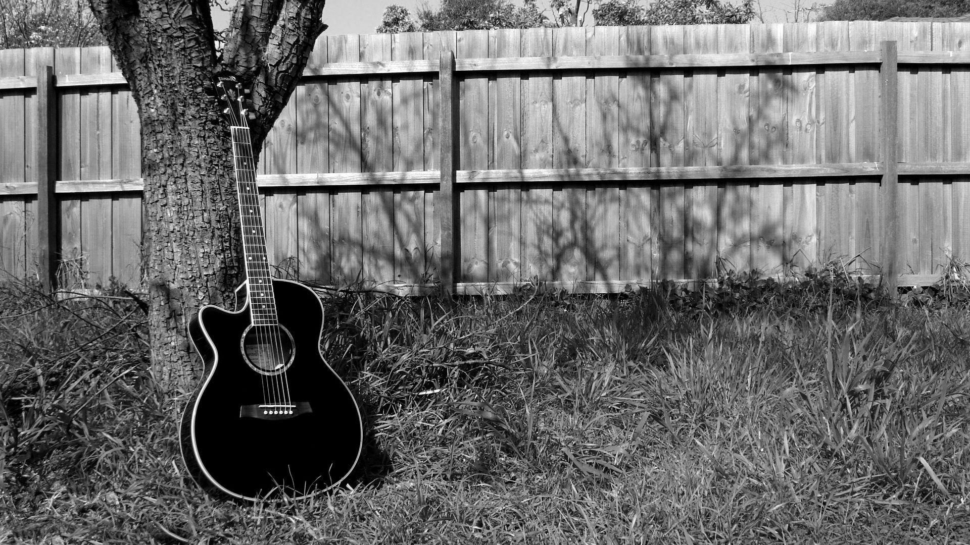Acoustic guitar wallpaper #18470