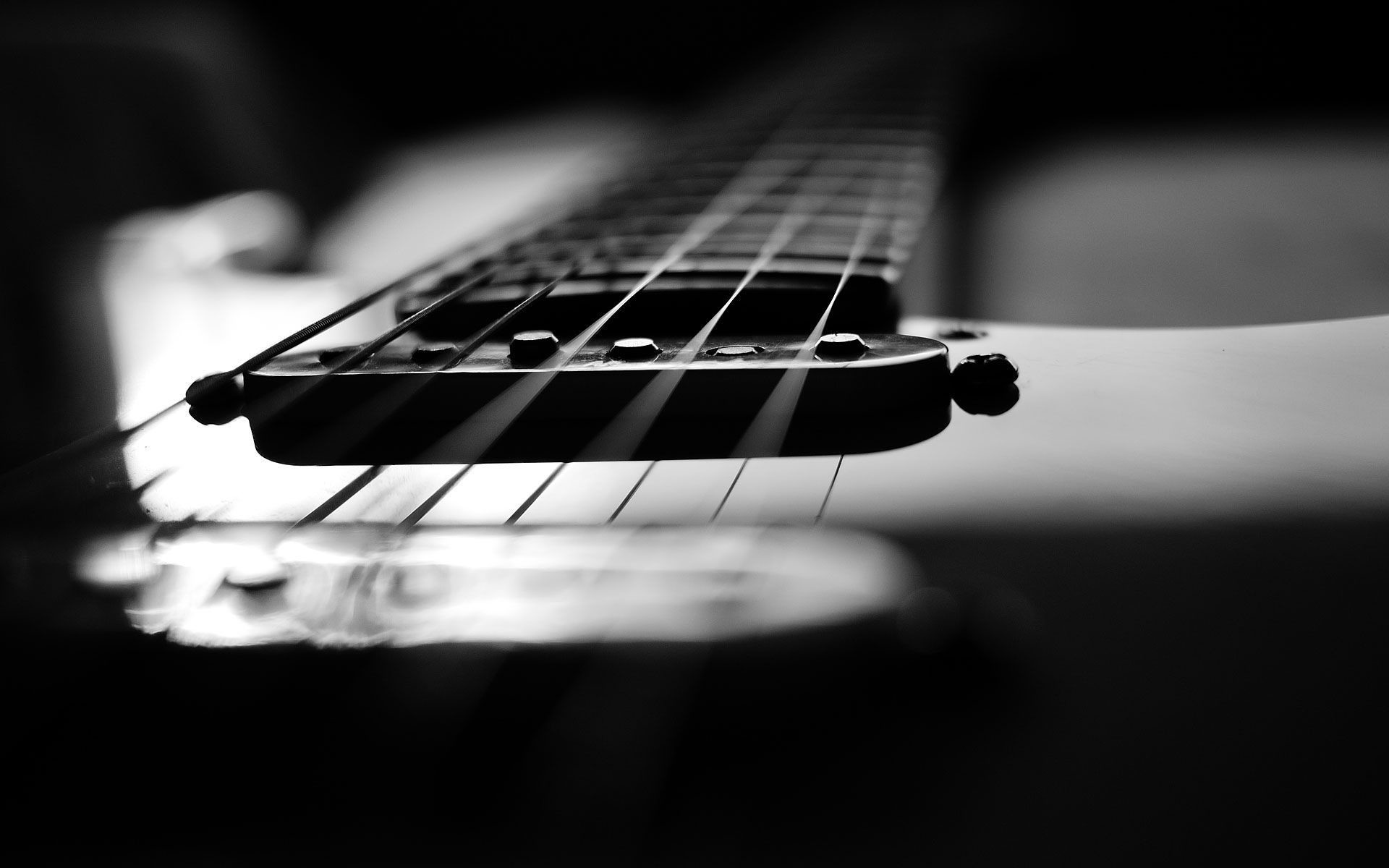 Guitar Wallpaper Black And White – 1836209