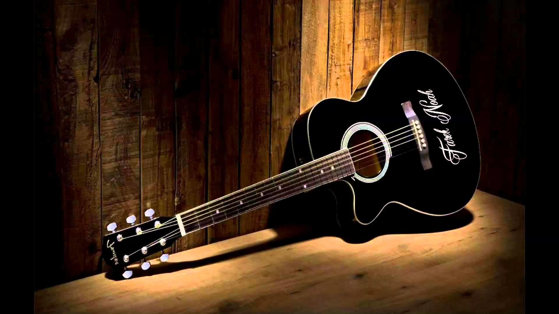 Fender Acoustic Guitar Wallpaper