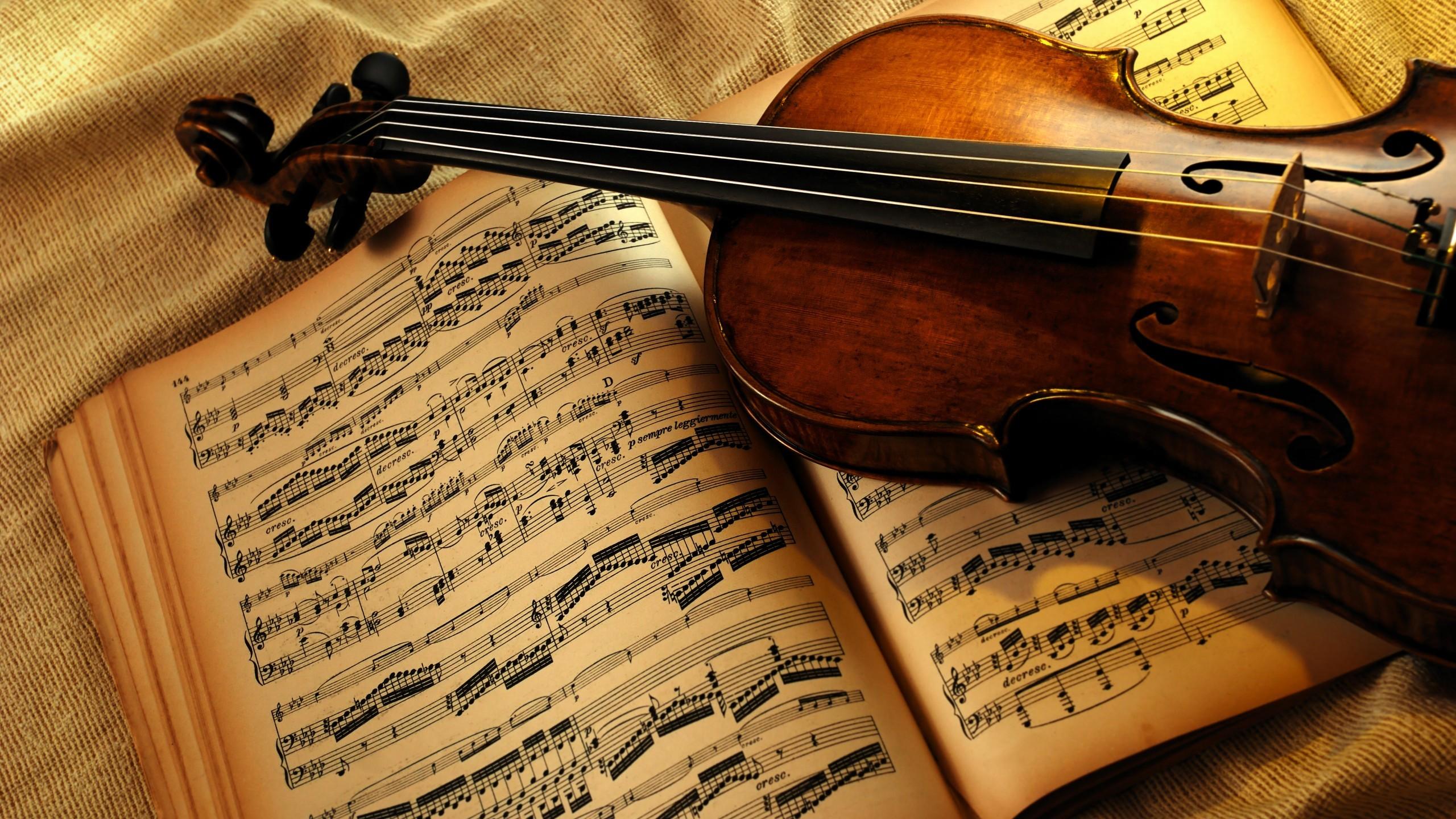 Violin Piano Wallpaper