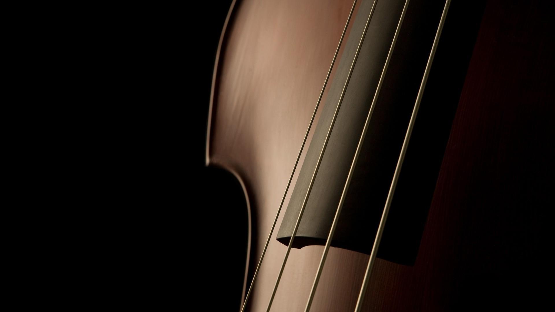 Preview wallpaper violin, shape, strings, elegant, refined 1920×1080