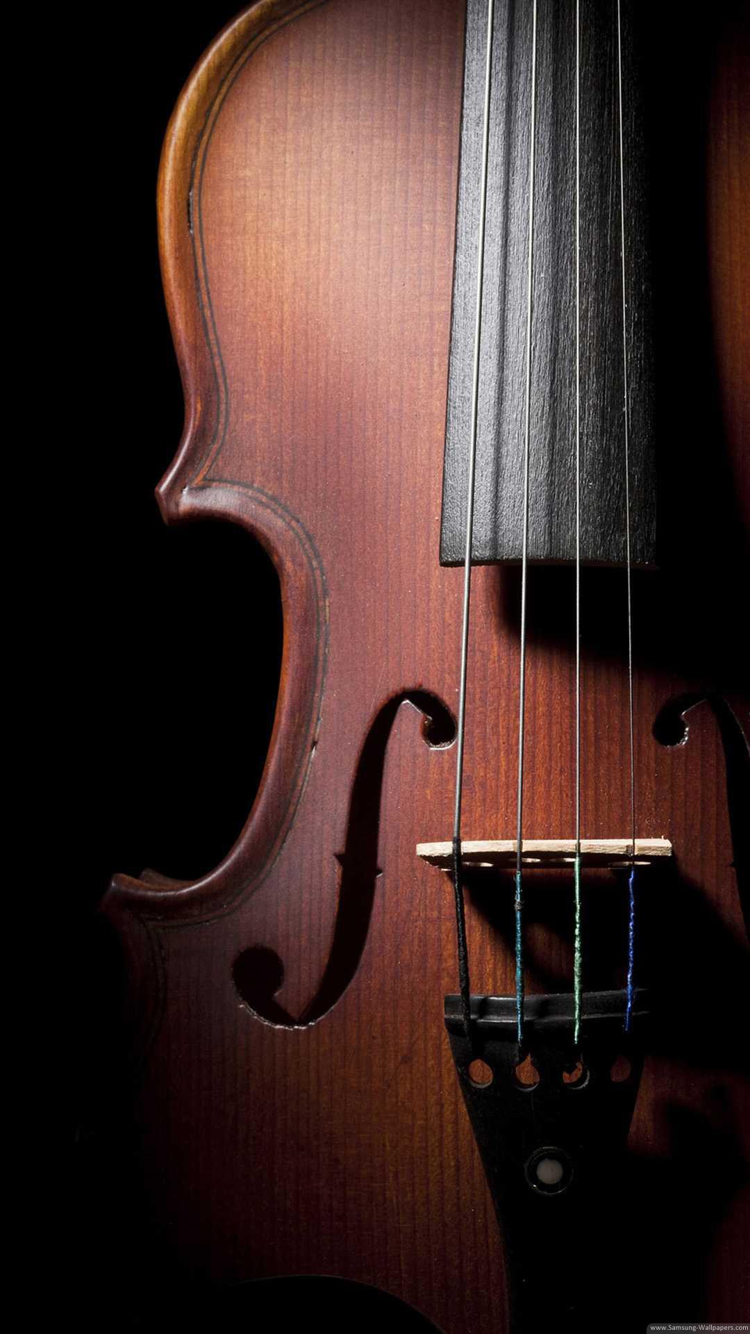Violin Stock Samsung Galaxy S5 Wallpaper HD