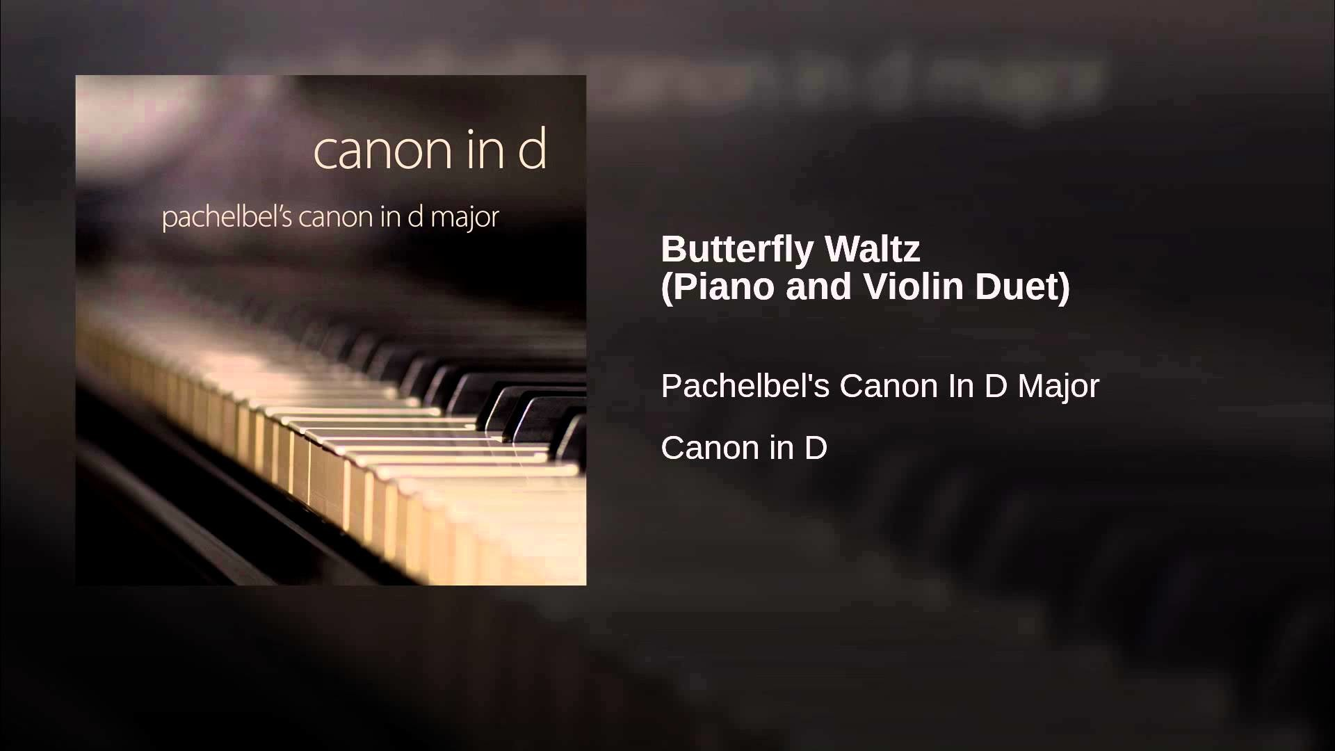 Butterfly Waltz (Piano and Violin Duet)