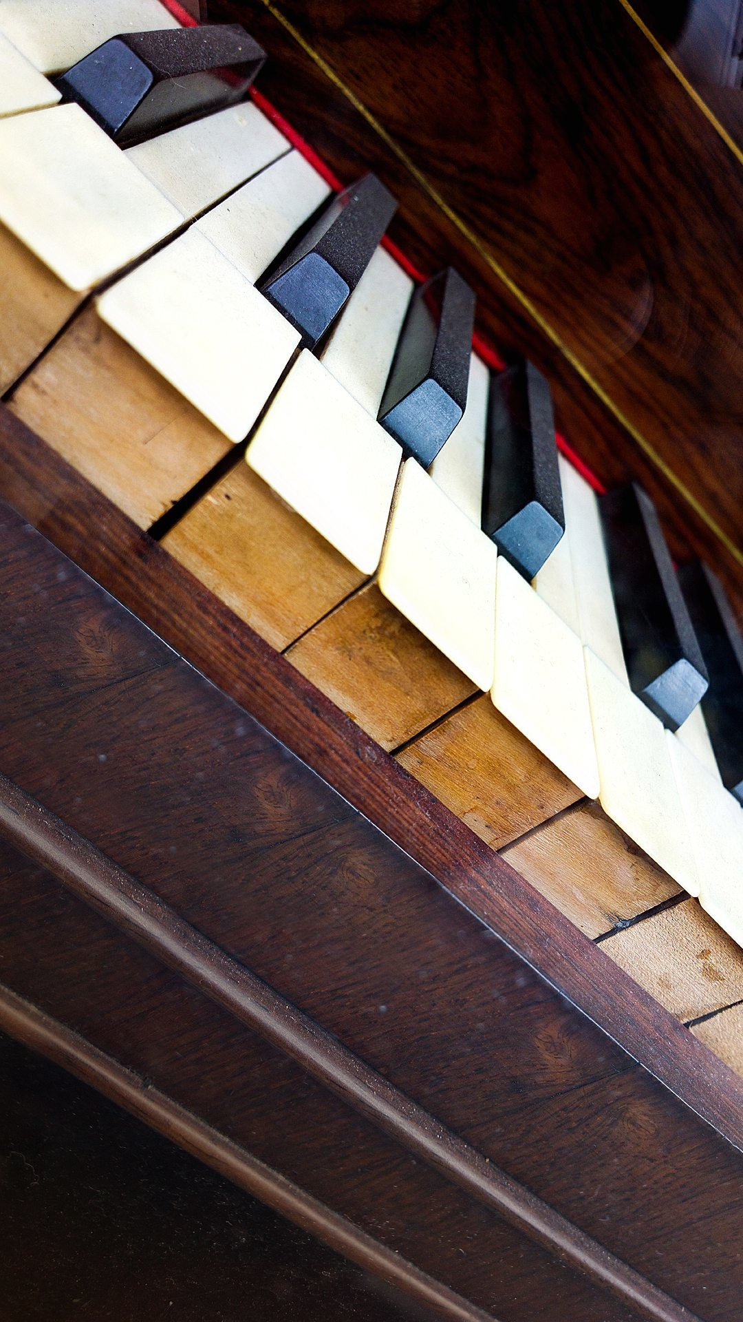Old Piano Keys Android Wallpaper …