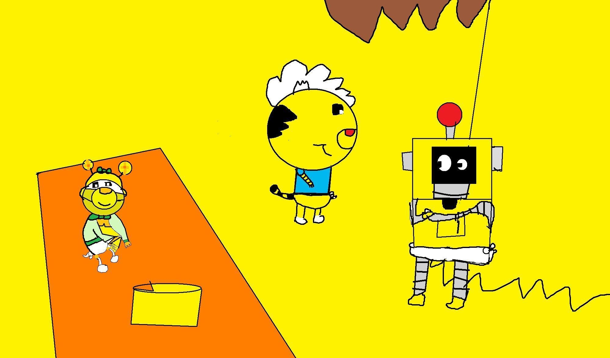 Yo Gabba Gabba images Baby Plex Rintoo & Mouse HD wallpaper and background  photos