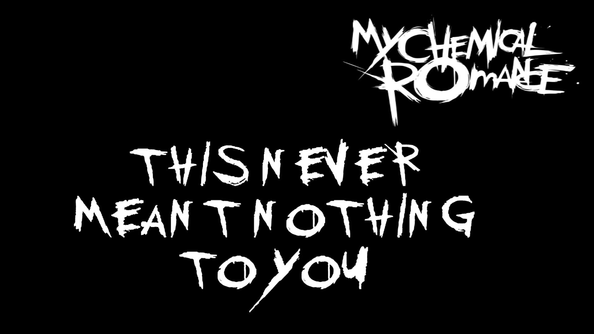My Chemical Romance – Disenchanted (Lyrics)