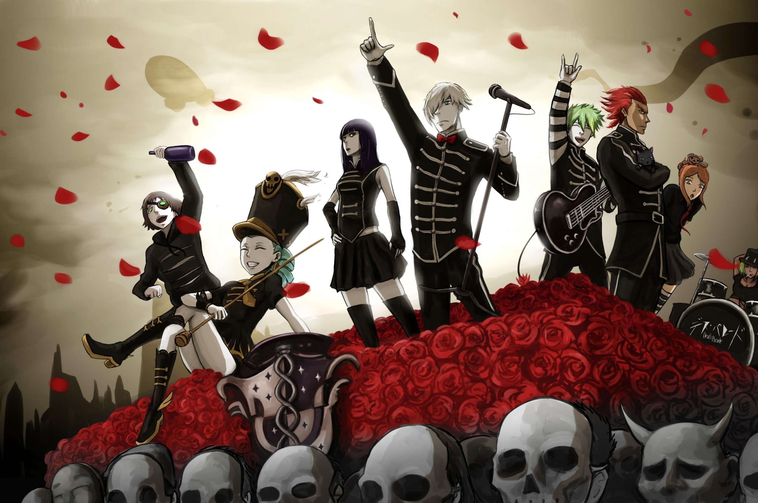 Anime Crossover, Kill La Kill, Death Parade, Decim, My Chemical Romance