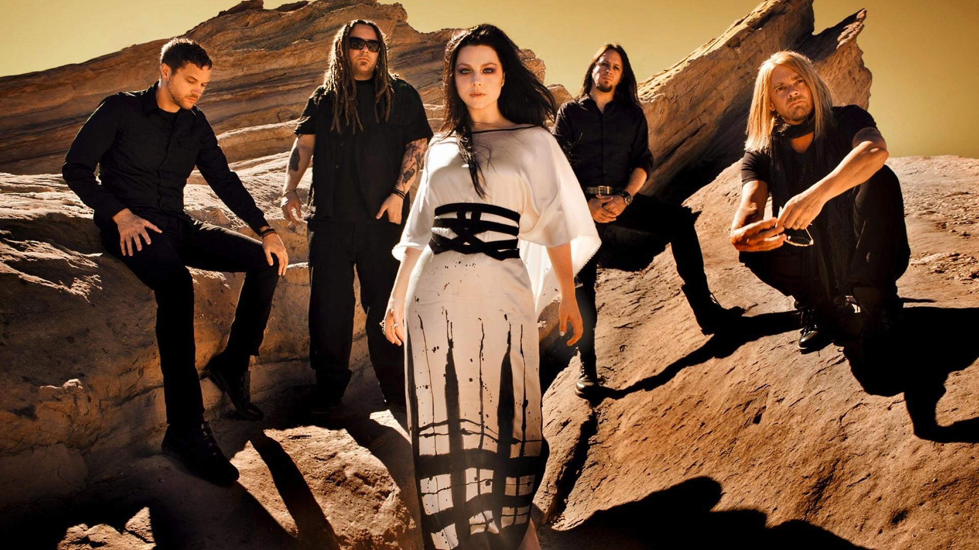 Evanescence backdrop wallpaper
