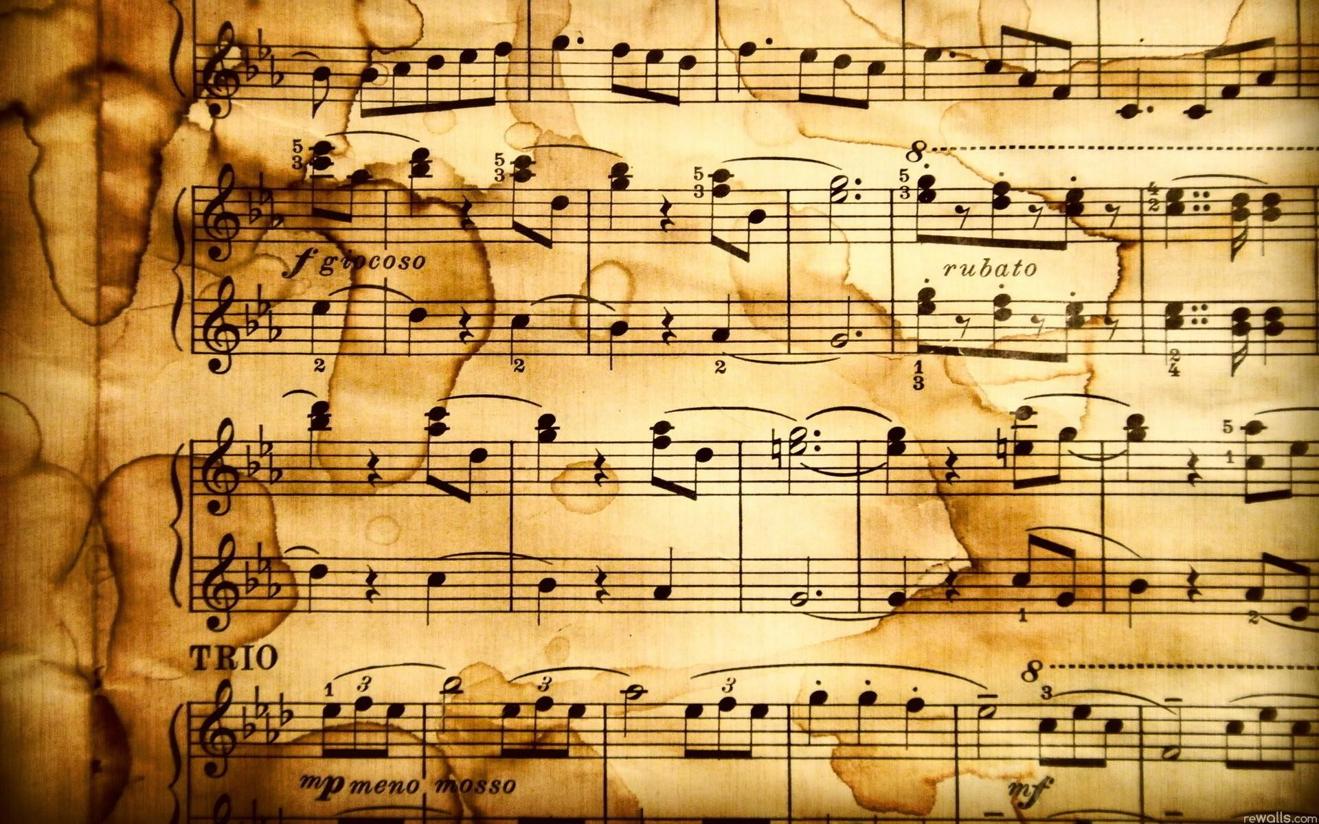 Wallpapers For > Classical Music Instruments Wallpaper