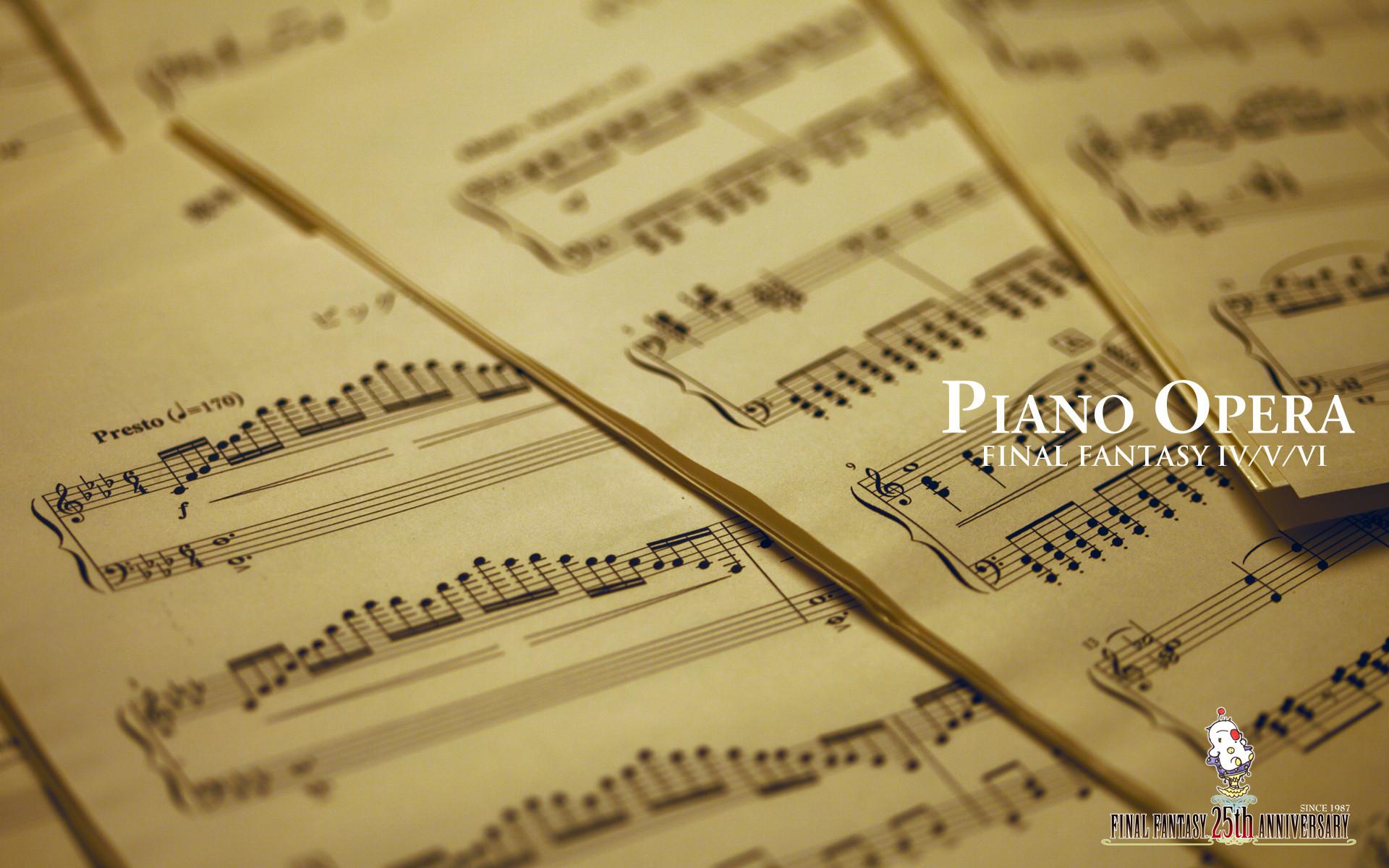 Classical Music Piano Wallpaper