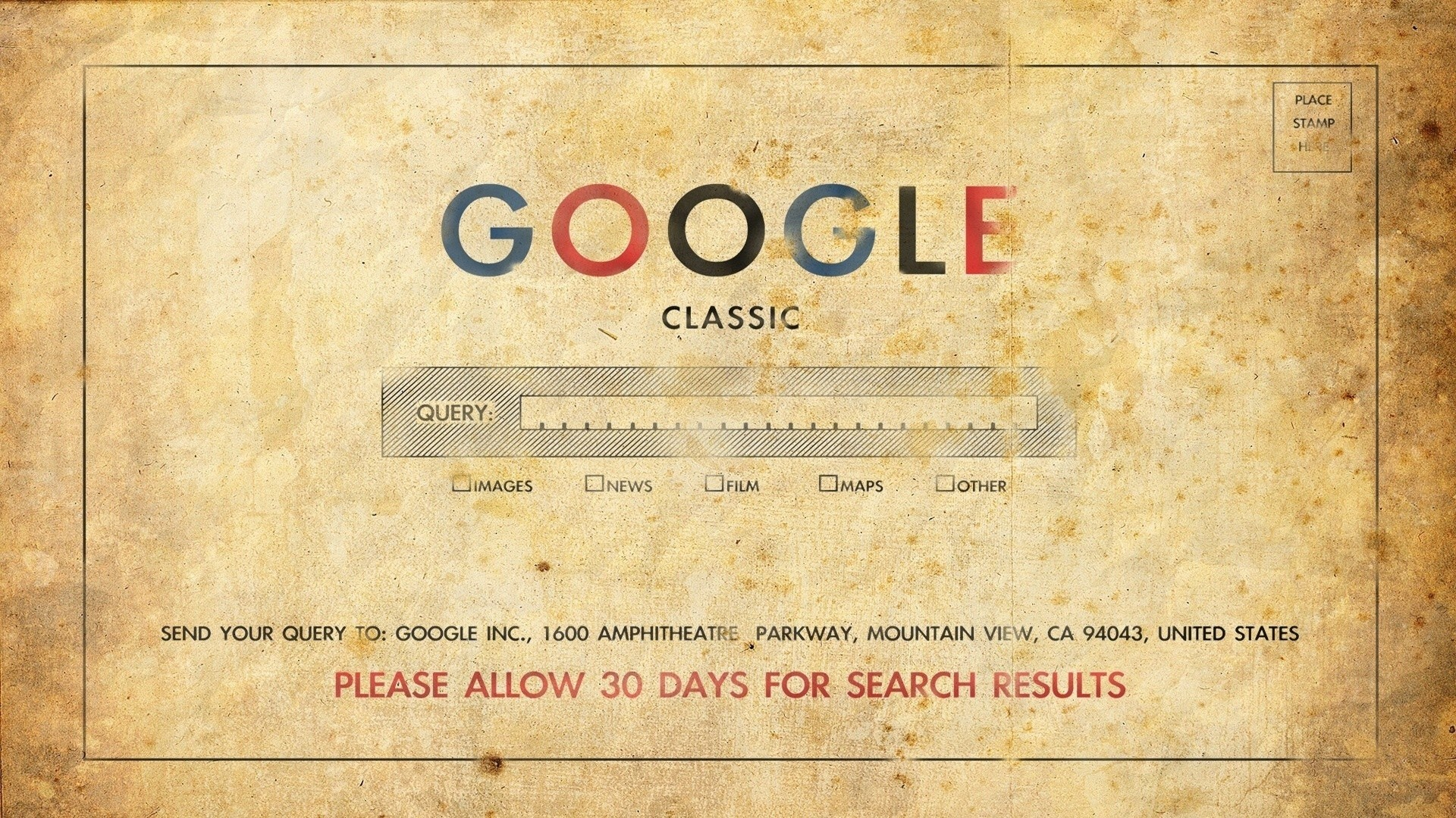 Preview wallpaper google, classic, old, art, logo 1920×1080