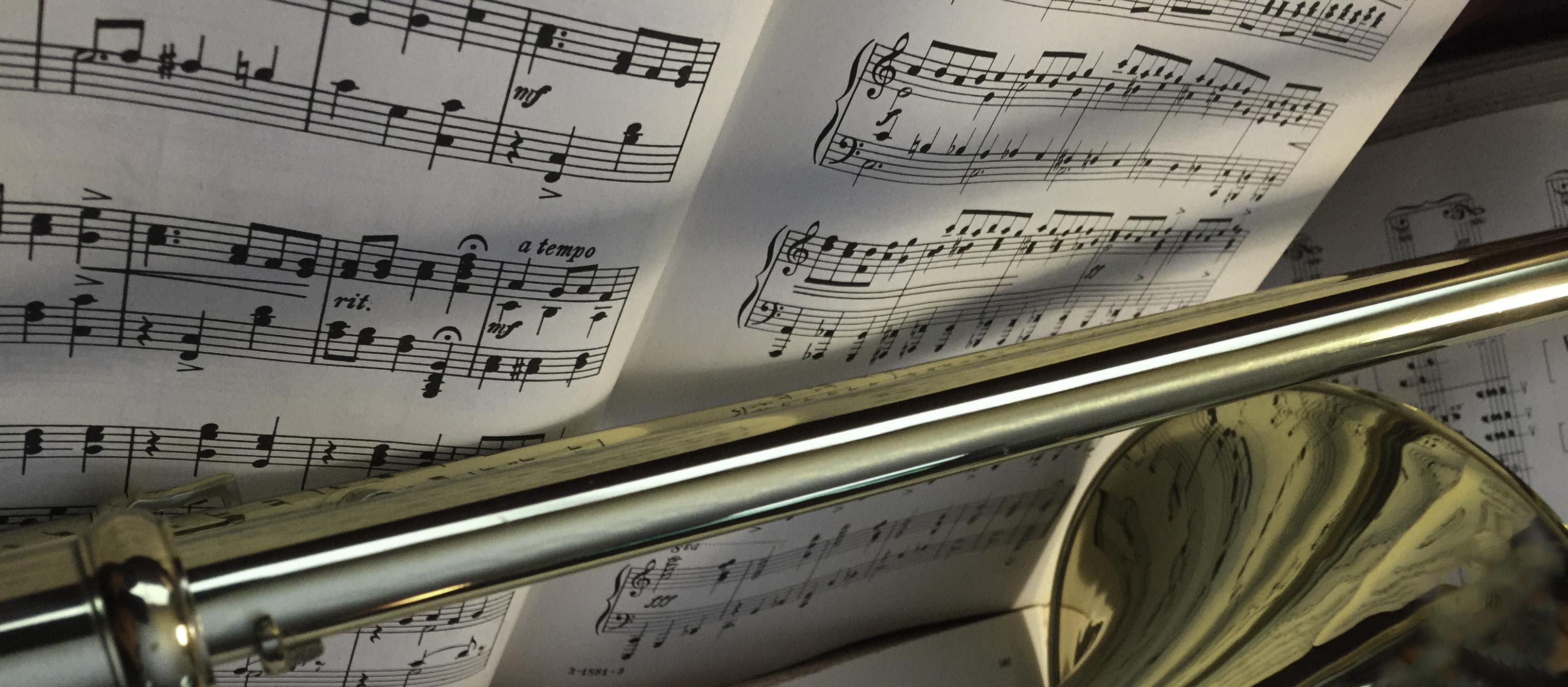 Music Trombone 0390