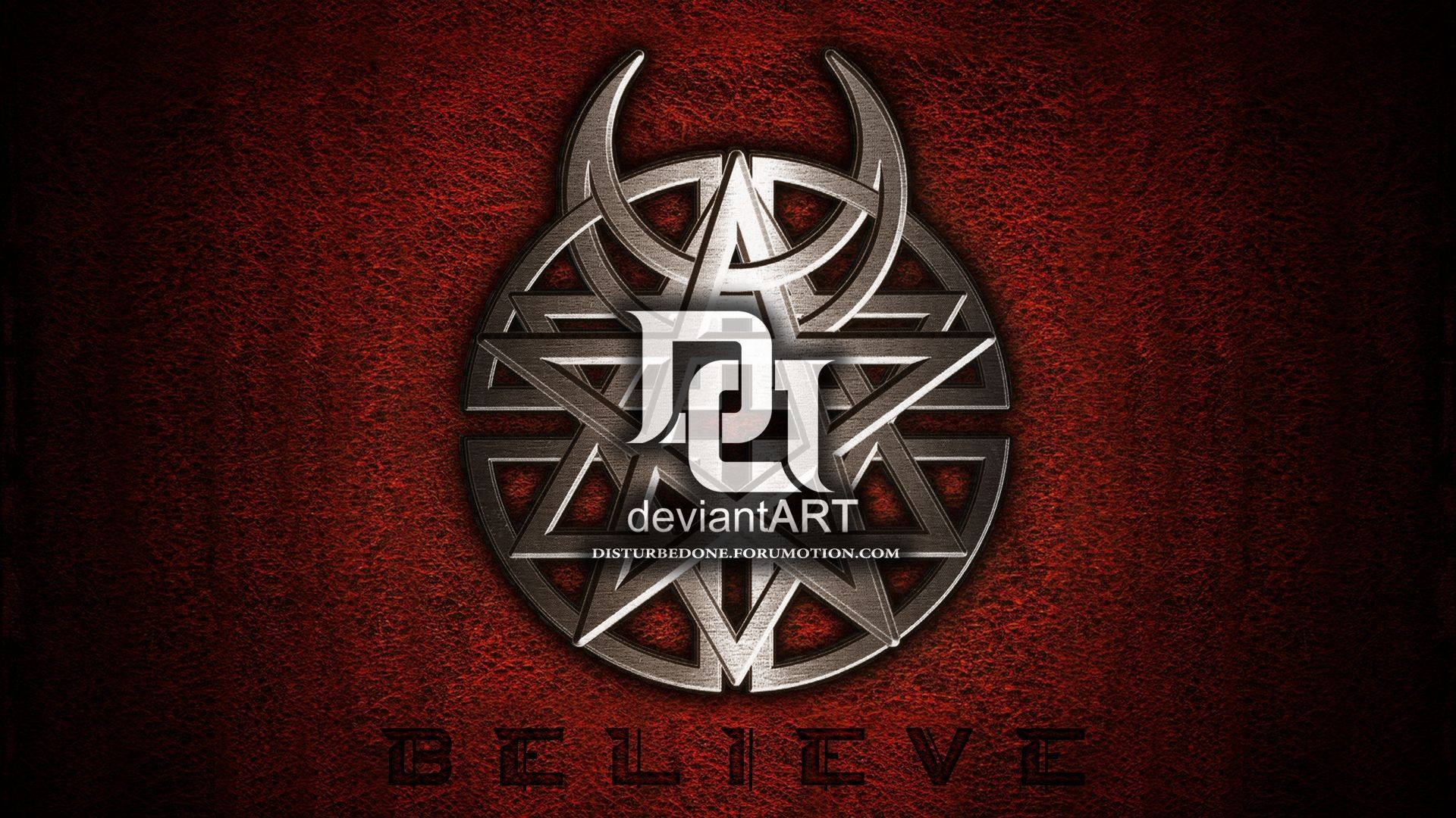 Disturbed Believe – wallpaper.