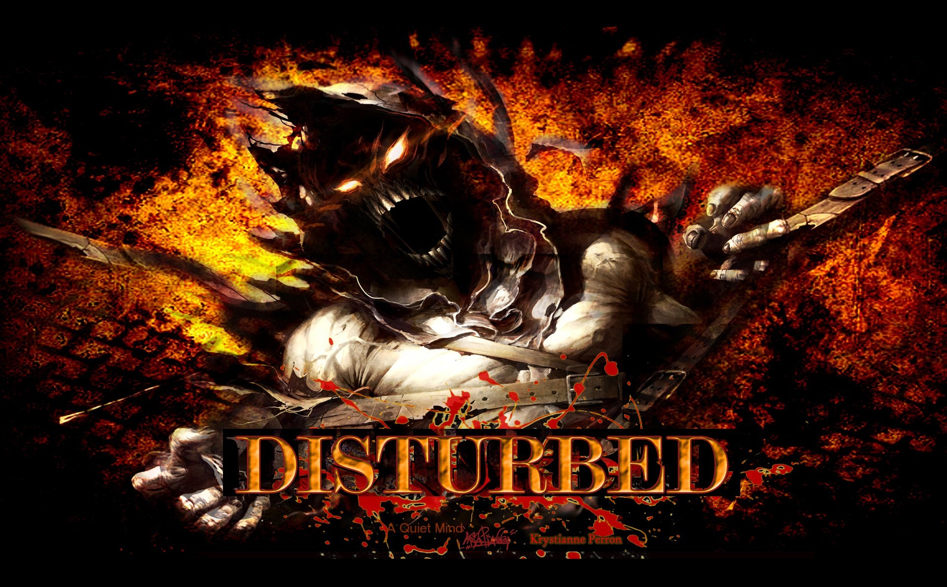 disturbed immortalized wallpaper …