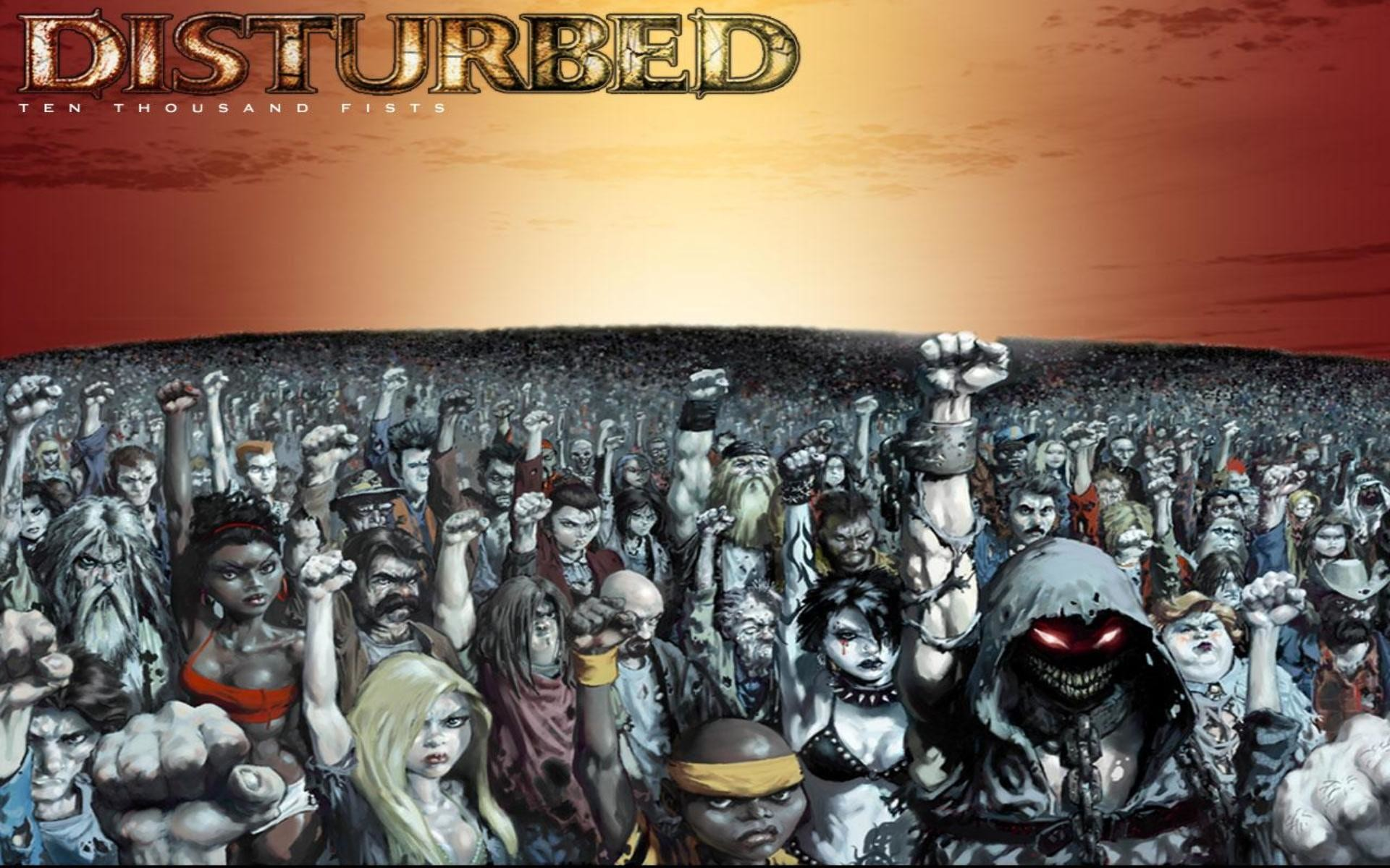 Disturbed Ten Thousand Fists Wallpaper