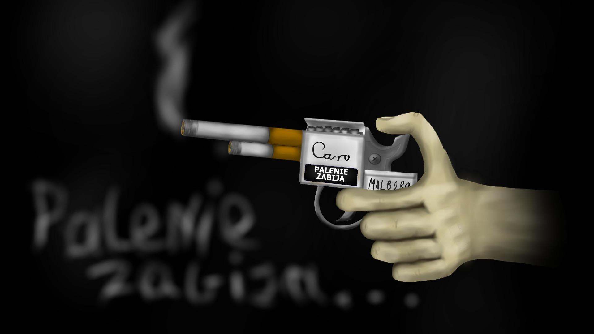 Smoking Wallpaper