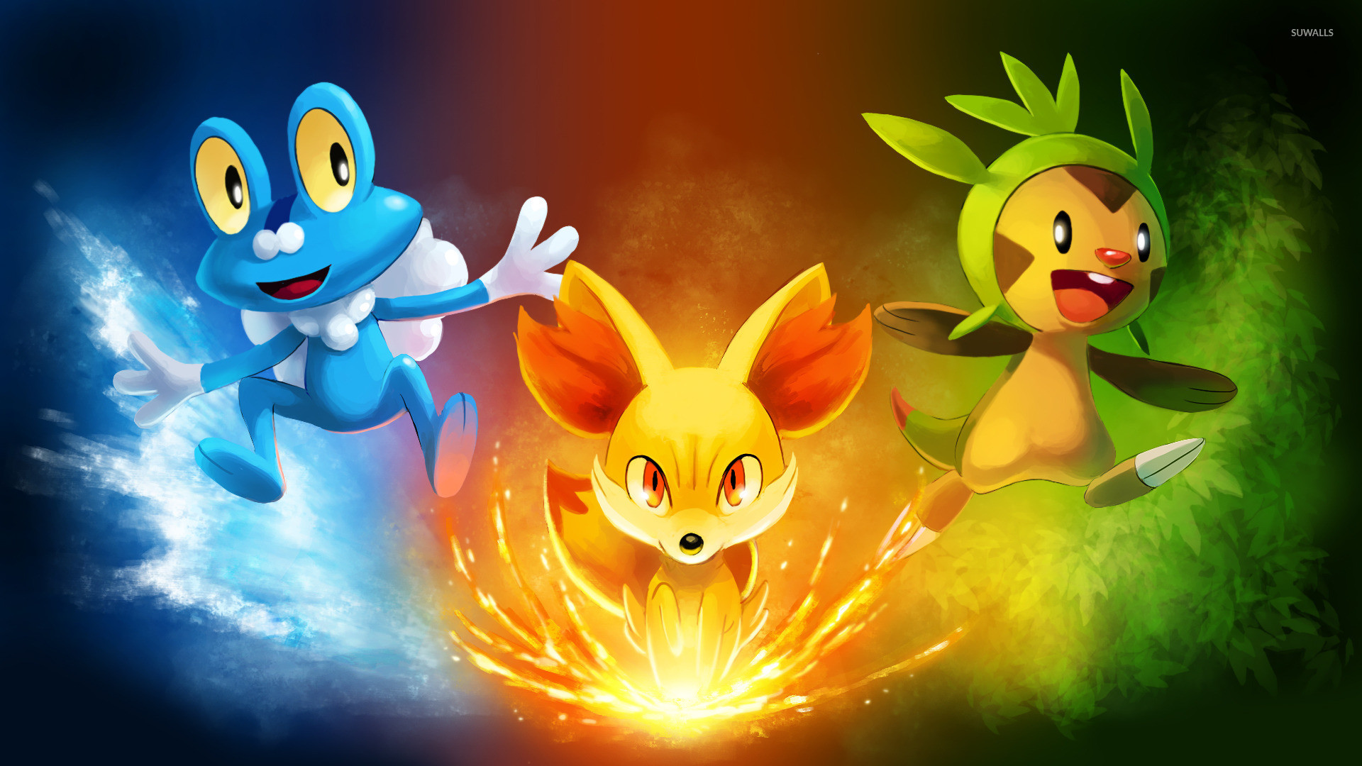 Pokemon X and Y wallpaper – Game wallpapers – #21692