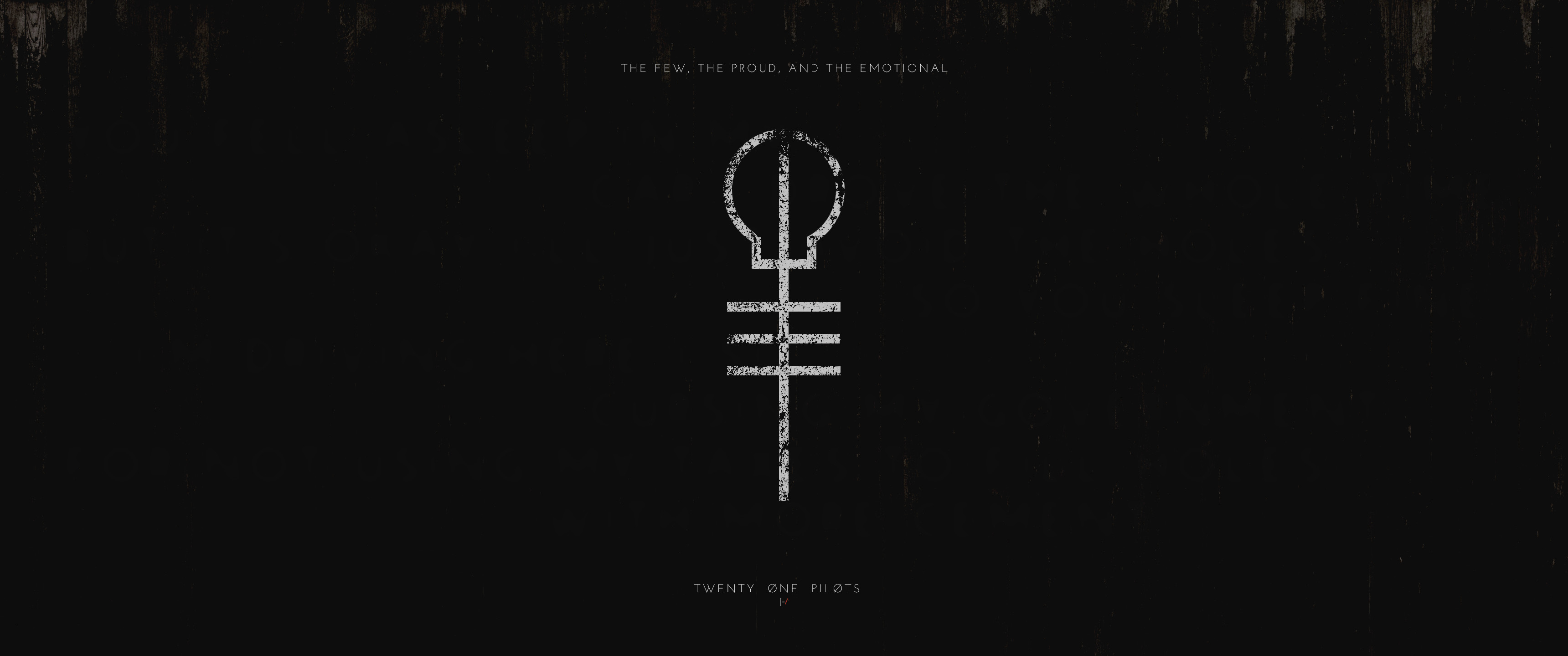 CreationCreated a New TØP Desktop Background …