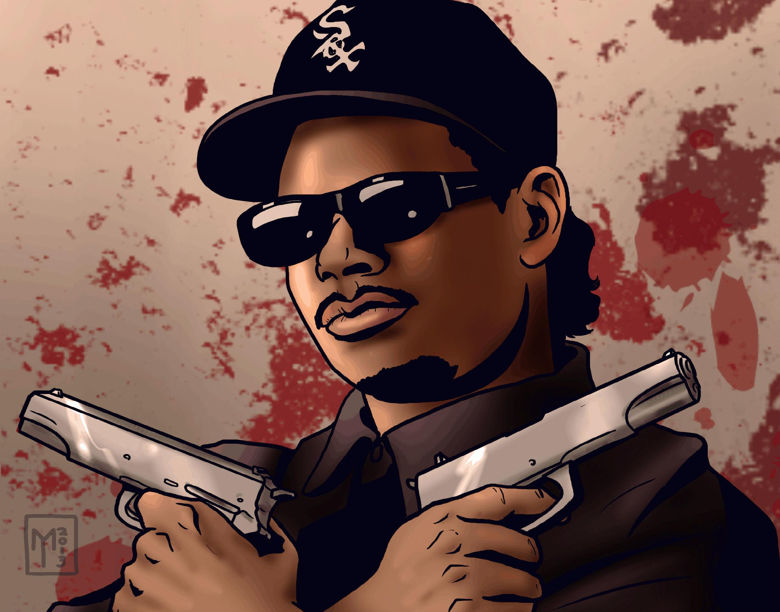 Nwa Wallpaper Eazy e nwa gangsta rapper rap