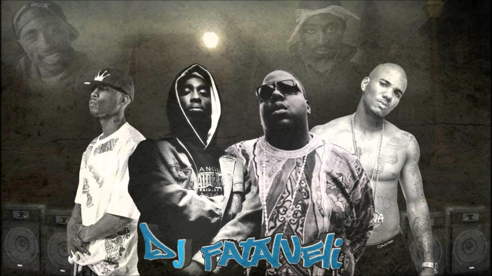 2Pac Ft. Biggie Smalls, Eazy E & Big Pun – The Streets (DJ