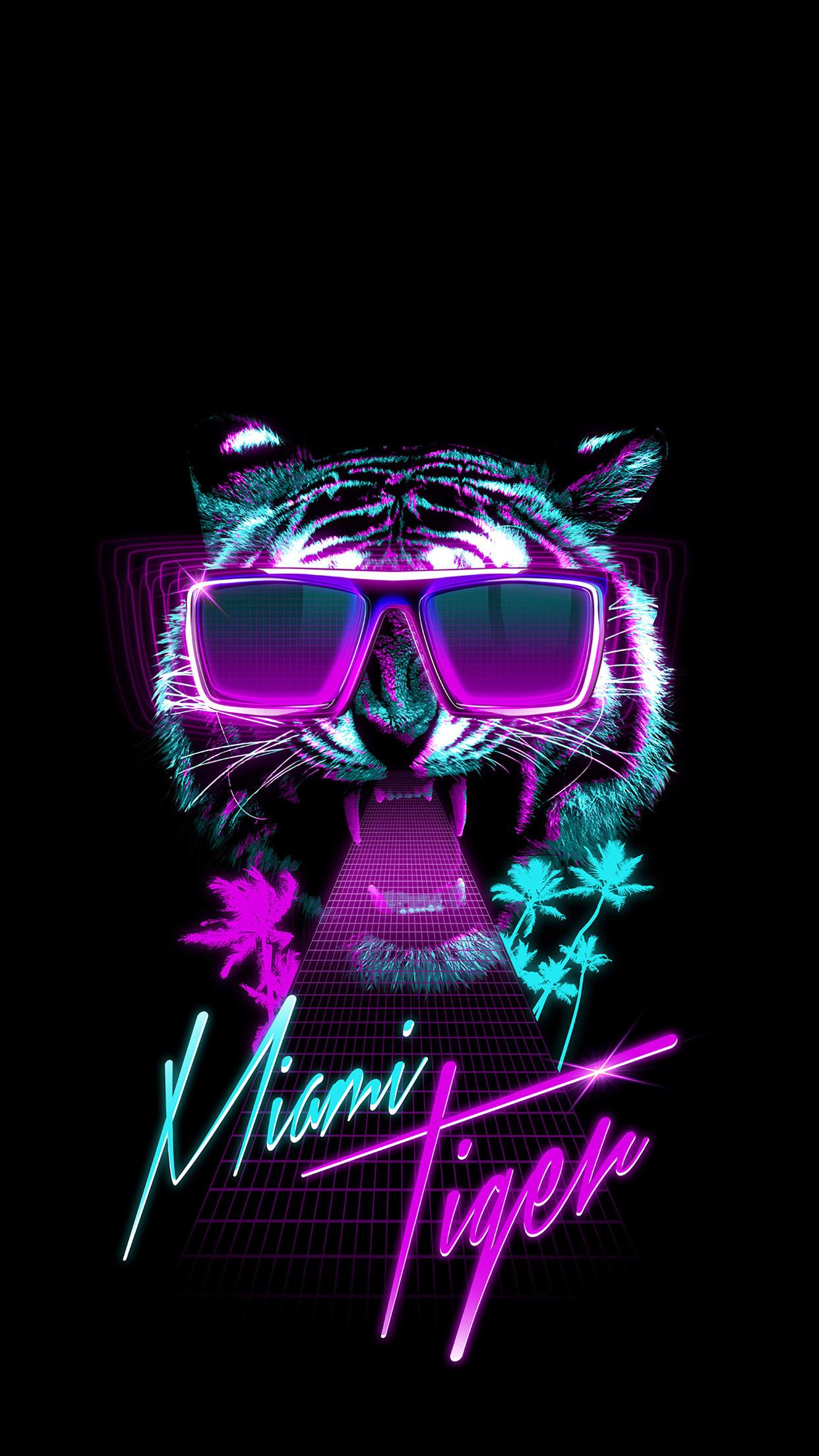 iphone 6 miami tiger night club hd wallpapers free