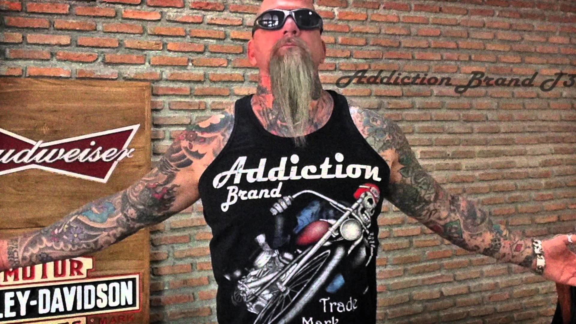 Harley Davidson Style Biker T-Shirts and Motorcycle Clothing by Addiction  Brand – YouTube